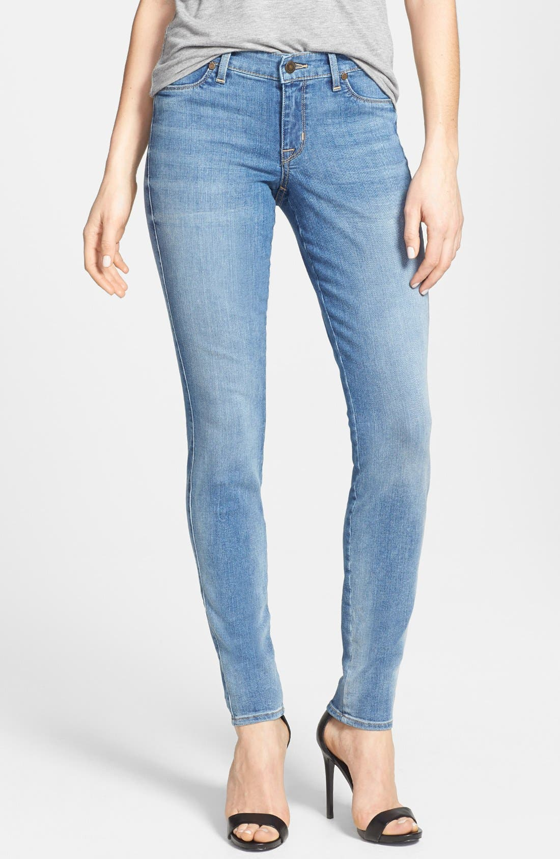 Alternate Image 1 Selected - CJ by Cookie Johnson 'Joy' Stretch Skinny Jeans (Syreeta)