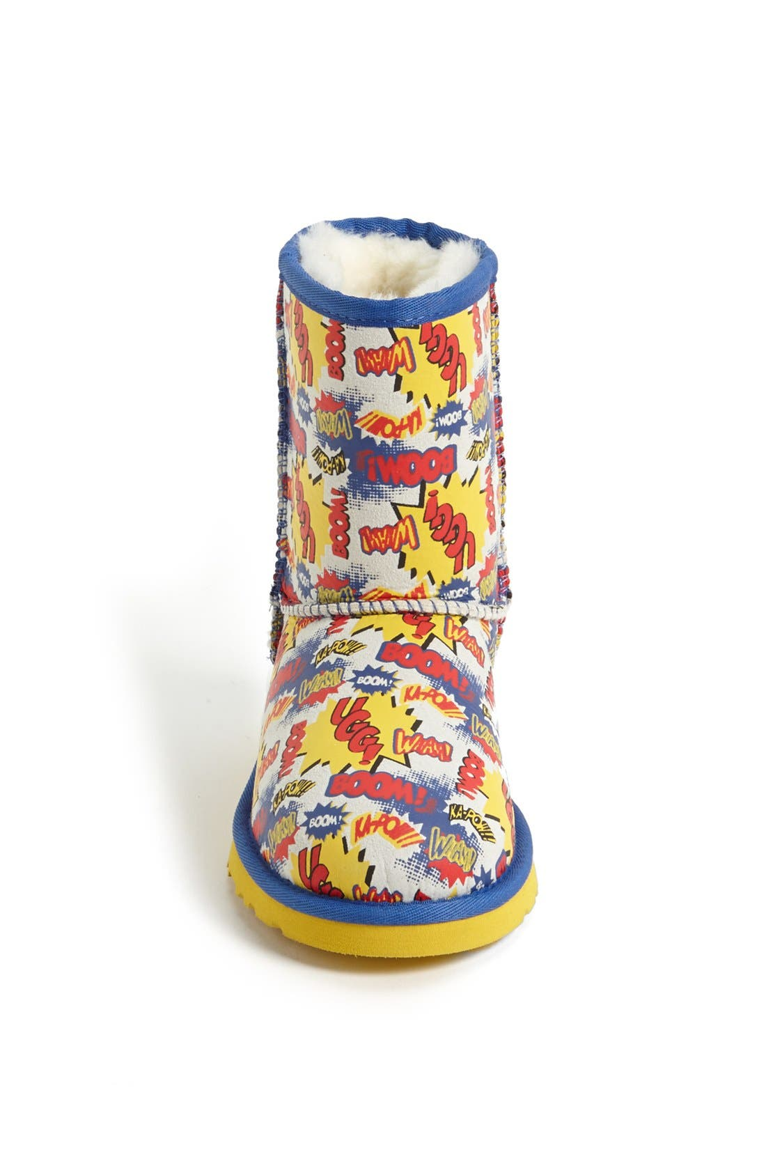 Alternate Image 3  - UGG® Australia 'Classic Short - Comic' Print Boot (Walker, Toddler, Little Kid & Big Kid)