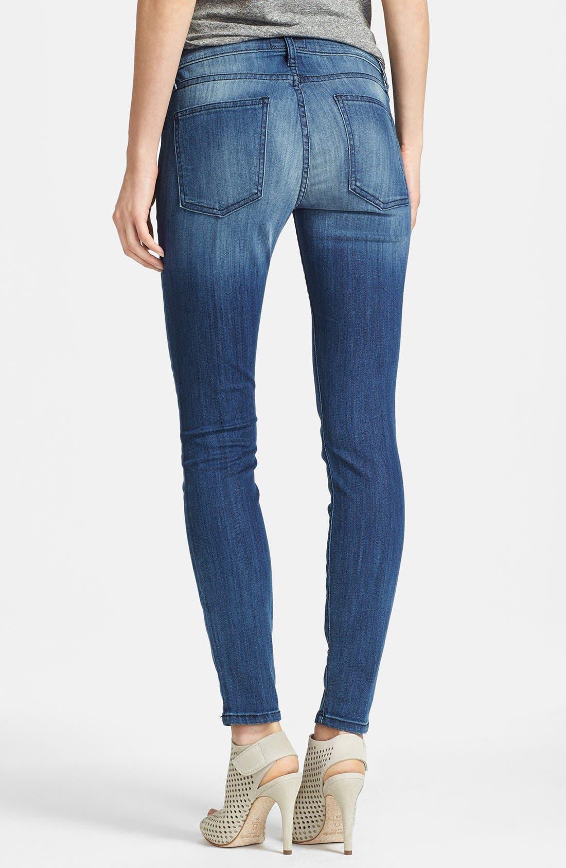 Alternate Image 2  - Current/Elliott 'The Stiletto' Skinny Jeans (Sunfade)