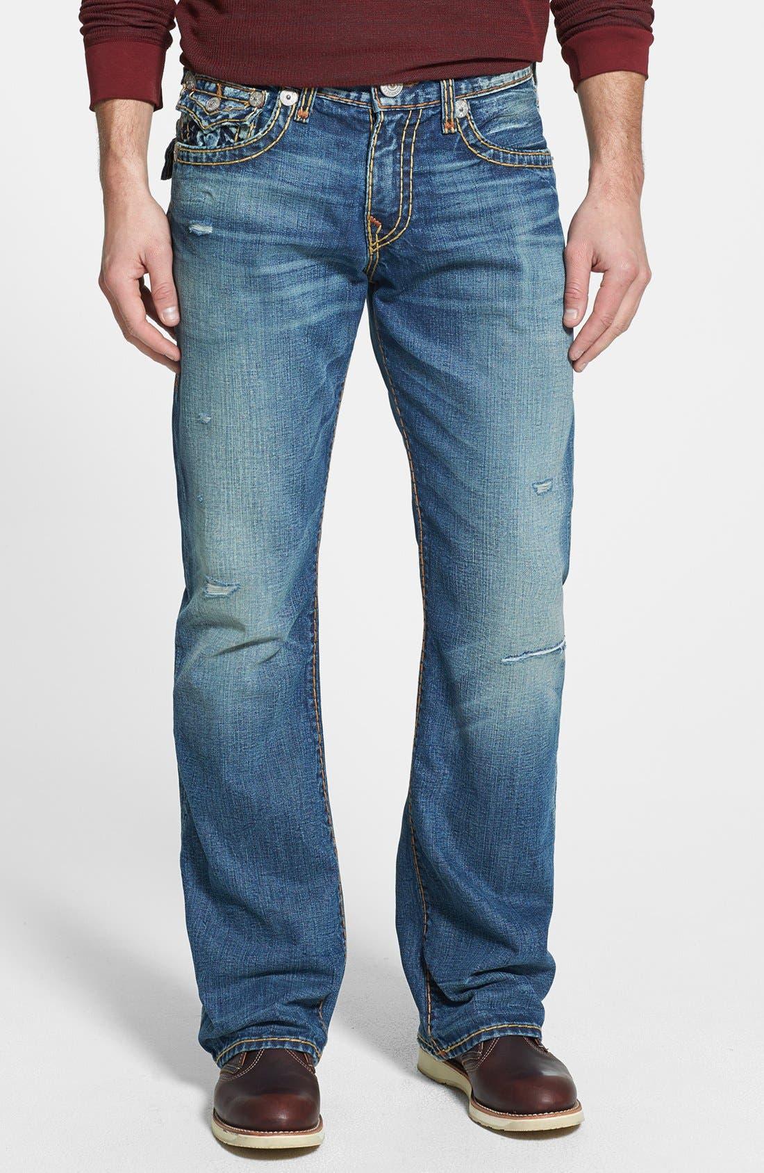 Alternate Image 2  - True Religion Brand Jeans 'Billy' Bootcut Jeans (Bafm Hot Springs)