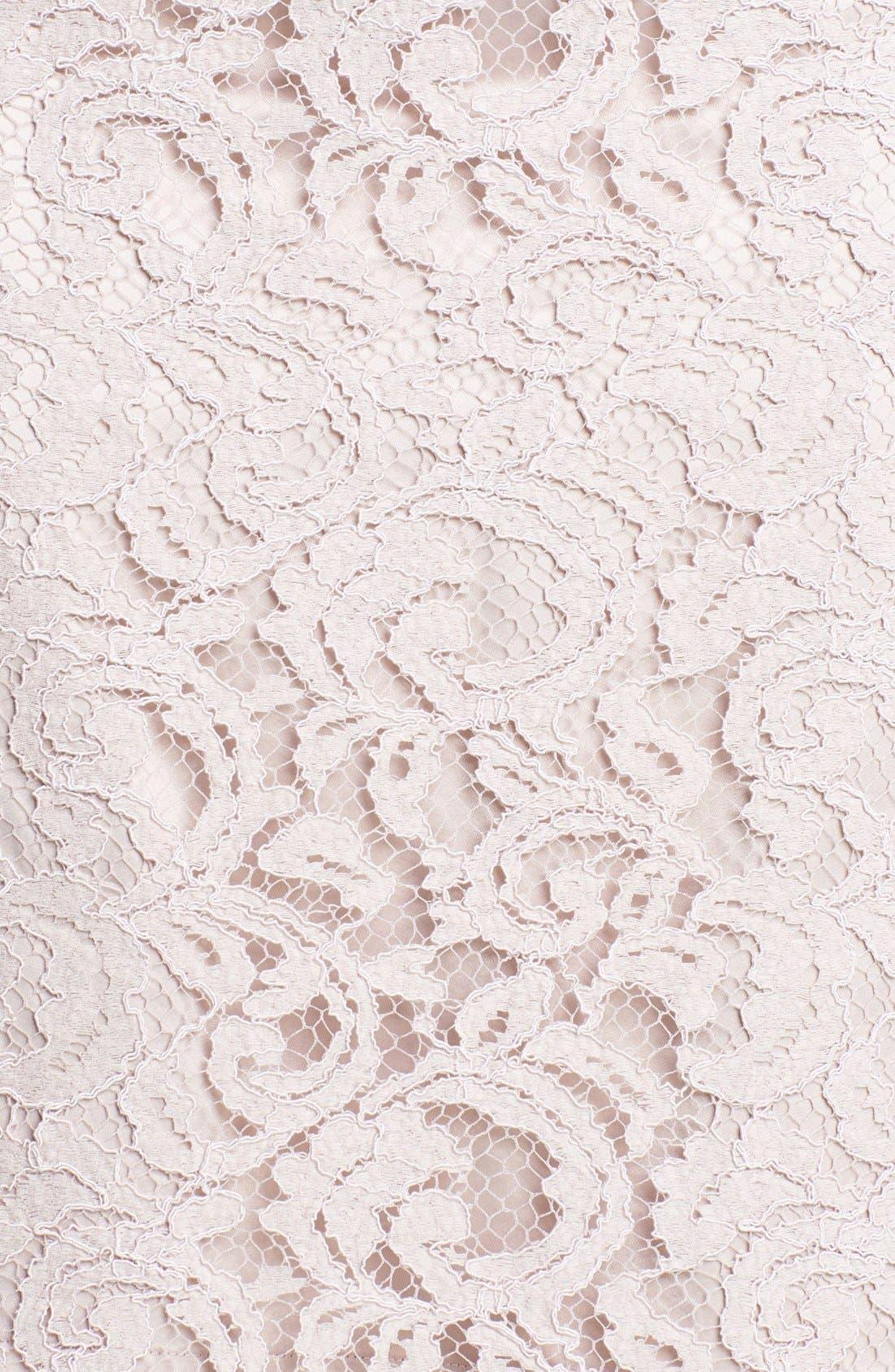 Alternate Image 3  - Eliza J Embellished Lace Sheath Dress (Petite)