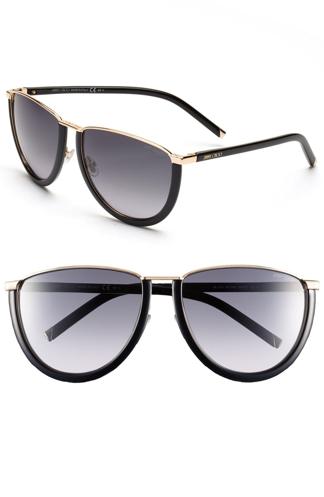 Alternate Image 1 Selected - Jimmy Choo 60mm Sunglasses