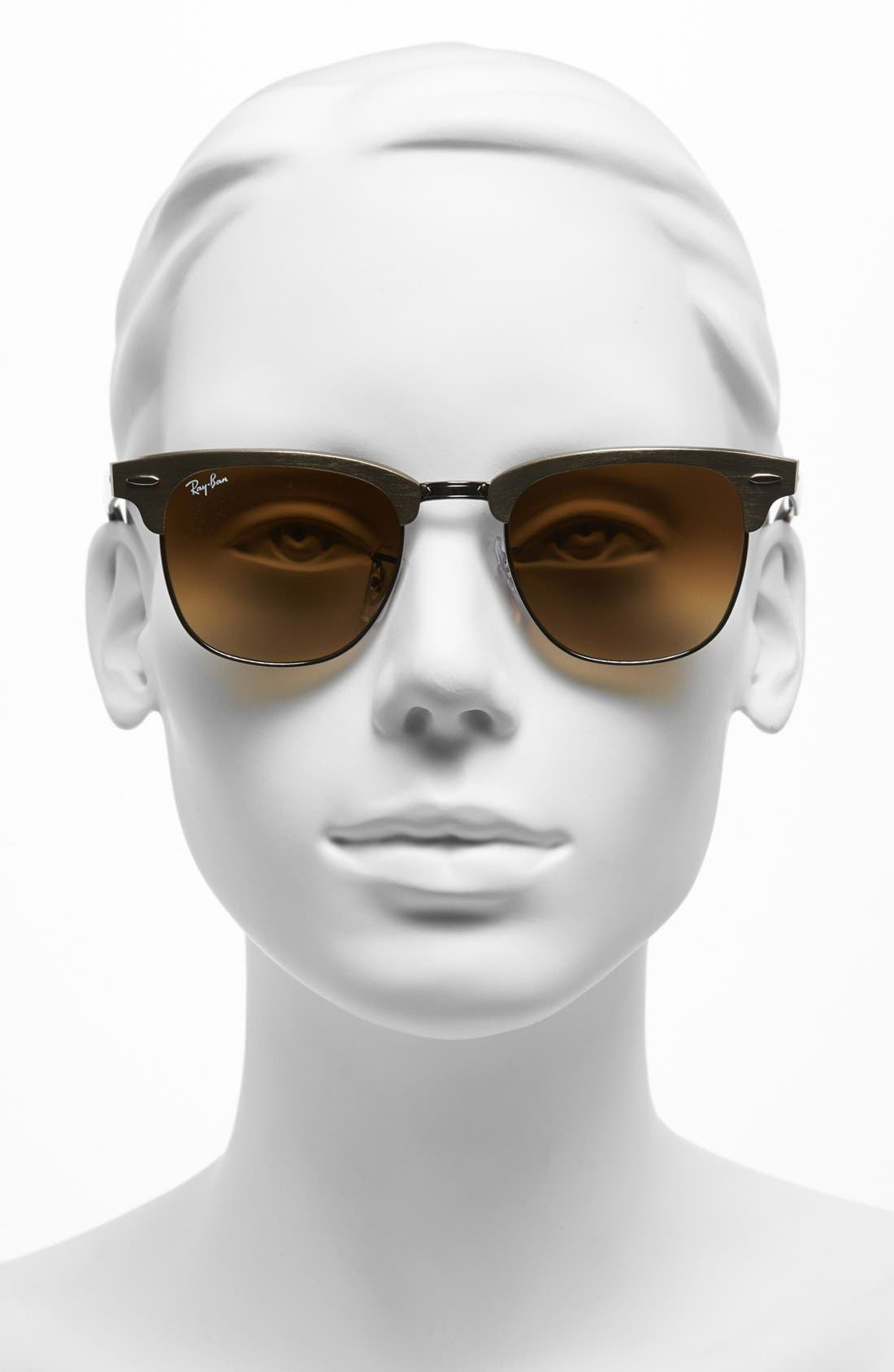 Alternate Image 2  - Ray-Ban 'Clubmaster' 49mm Sunglasses