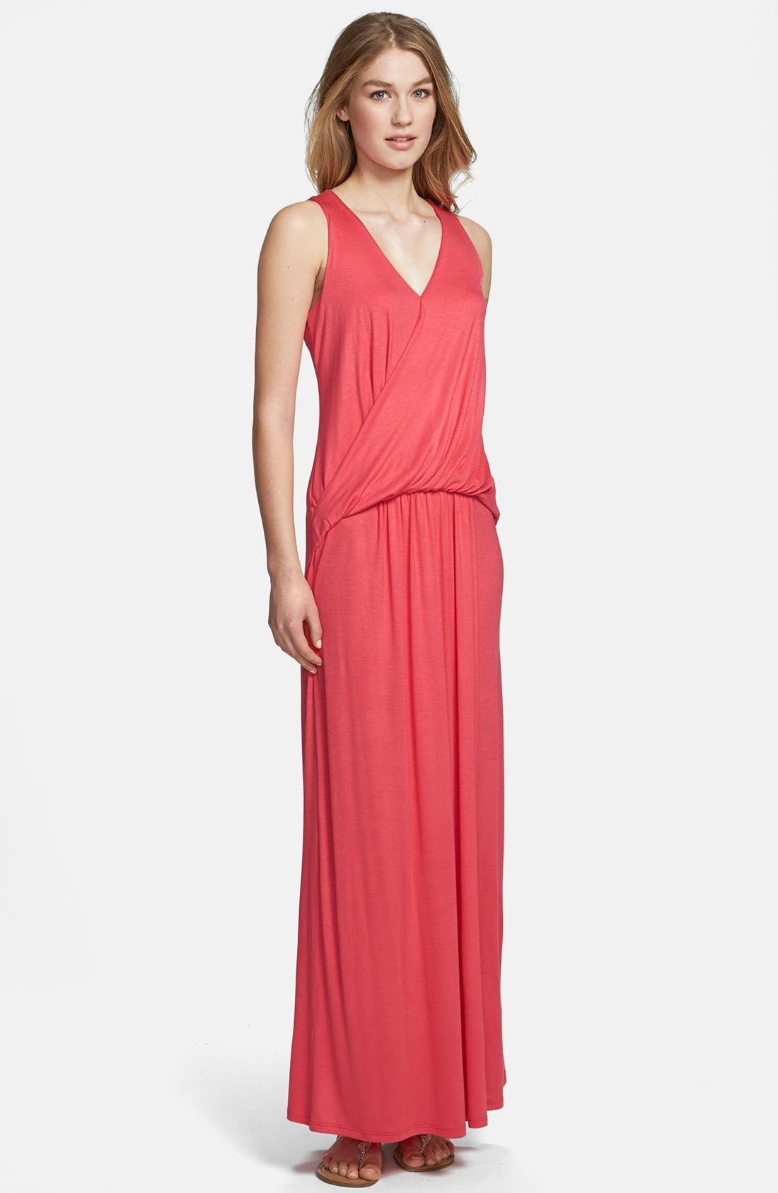 Alternate Image 1 Selected - Everleigh Draped Maxi Dress