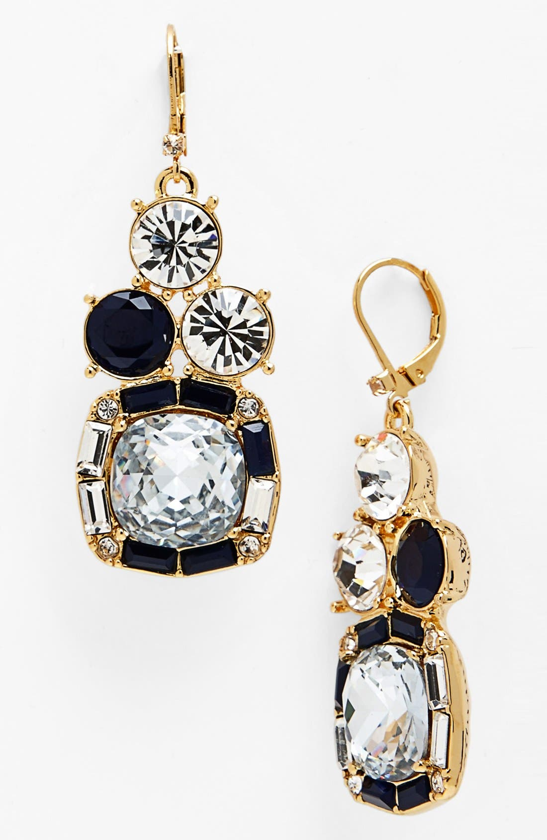 Alternate Image 1 Selected - kate spade new york 'on the town' mixed stone drop earrings