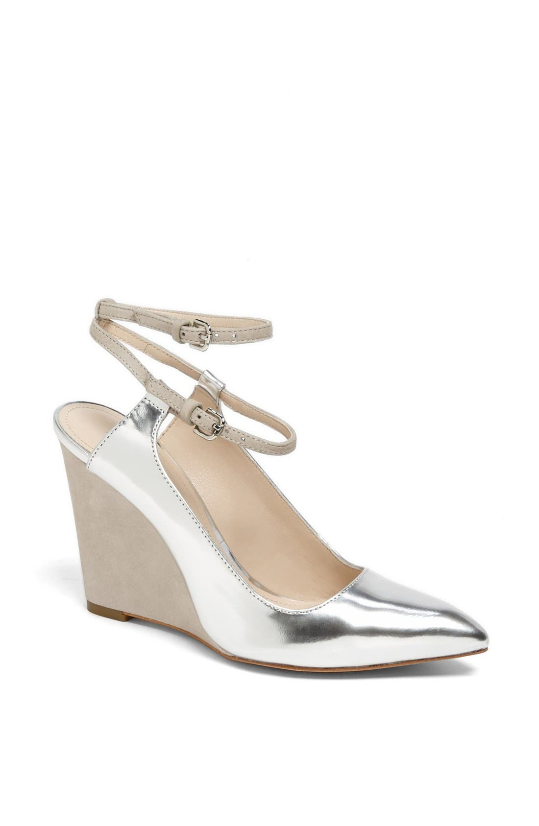 Alternate Image 1 Selected - COACH 'Ollie' Pointy Toe Wedge Pump