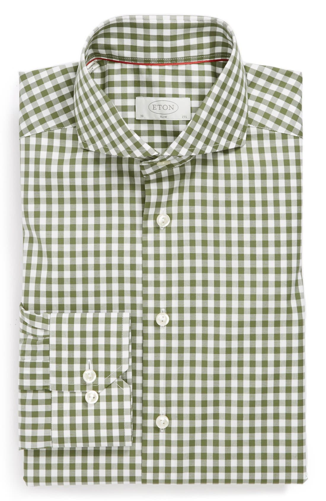 Main Image - Eton Slim Fit Dress Shirt