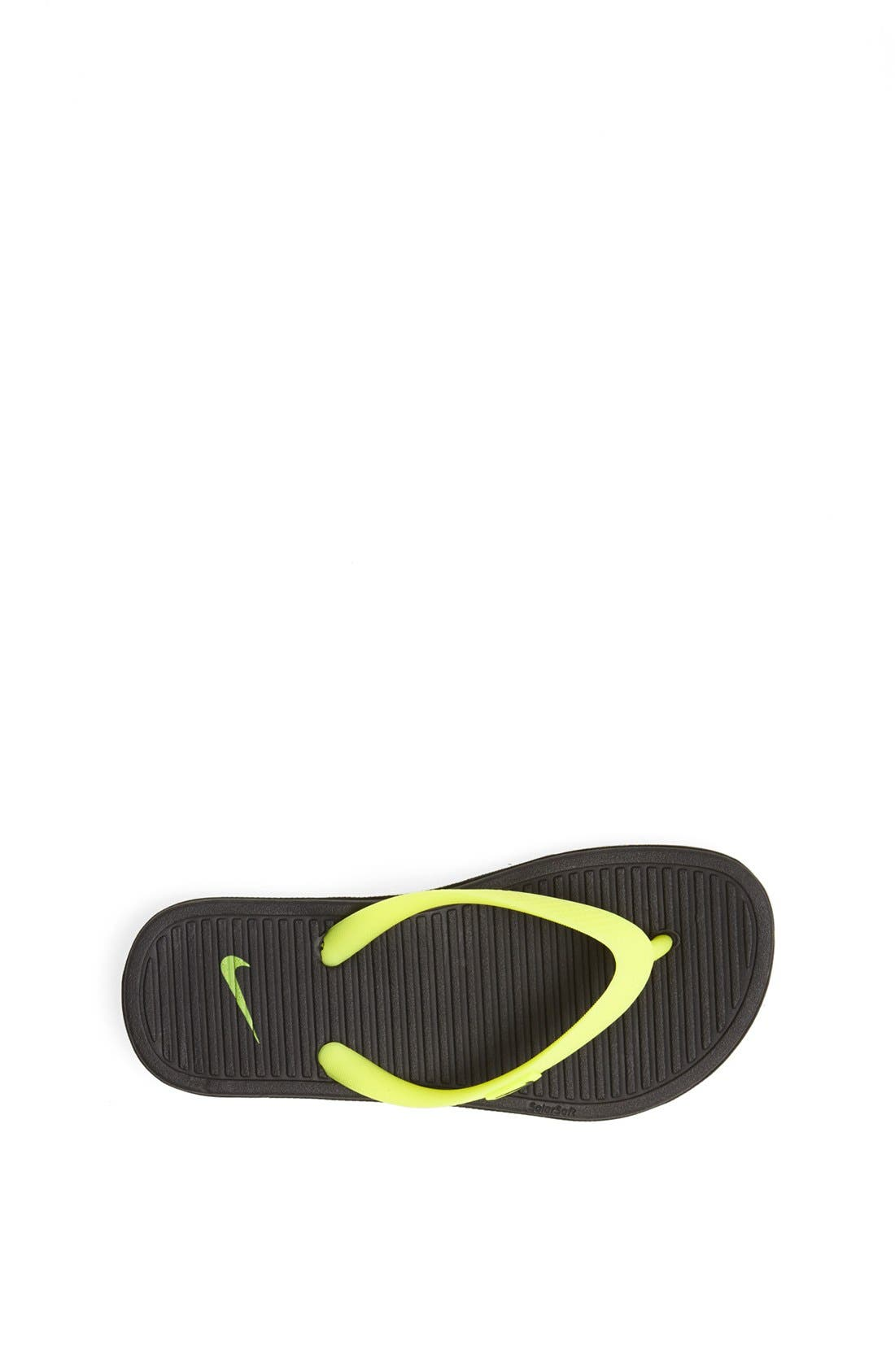 Alternate Image 3  - Nike Solarsoft Thong Sandal (Toddler, Little Kid & Big Kid)