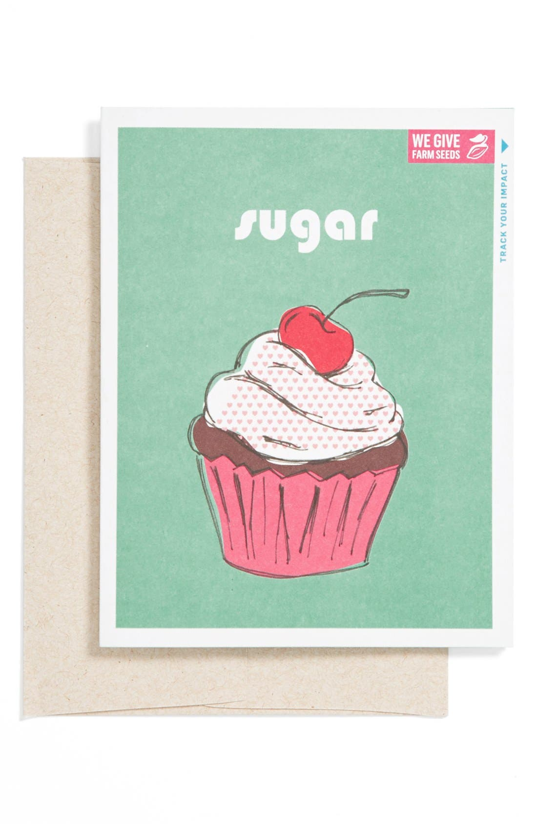 Alternate Image 1 Selected - Me to We Artisans 'Sugar' Valentine's Day Card (Juniors) (Online Only)