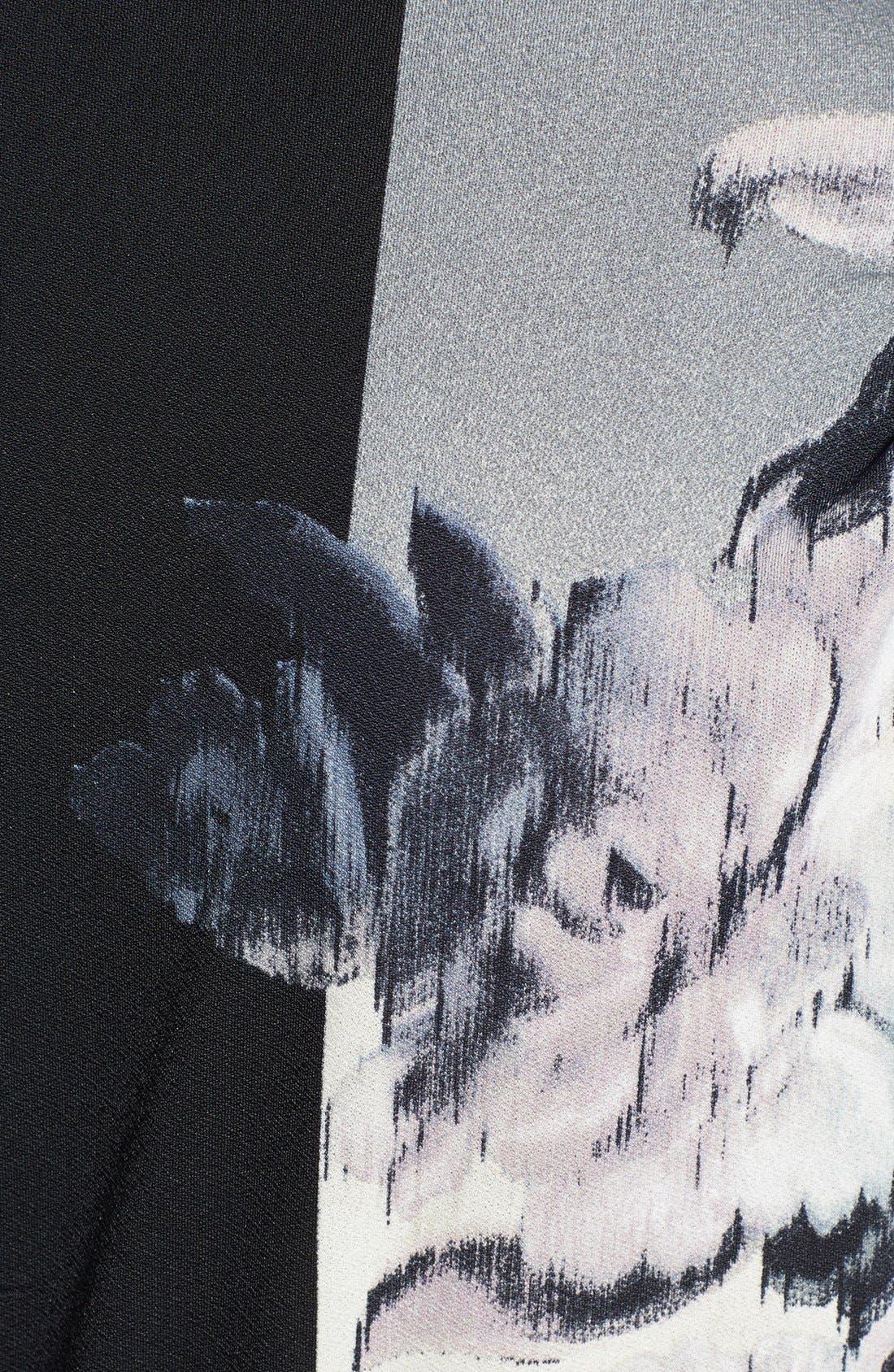 Alternate Image 3  - ABS by Allen Schwartz 'Kaftan' Printed High/Low Maxi Dress (Plus Size)