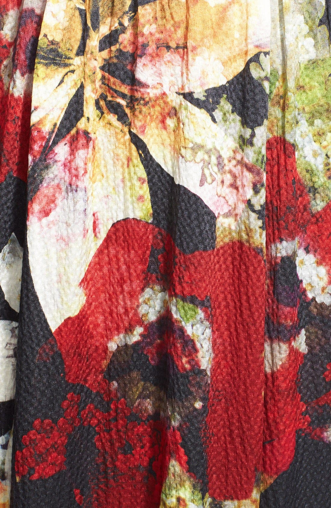 Alternate Image 3  - Alice + Olivia 'Triss' Print Silk Maxi Dress