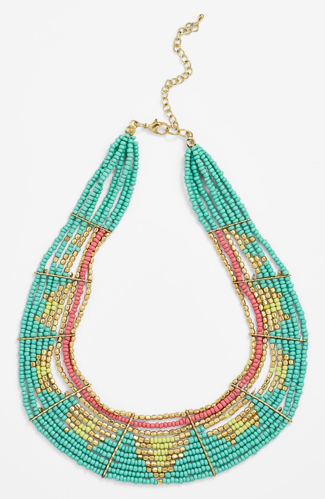 Main Image - Stephan & Co. Beaded Collar Necklace (Juniors)