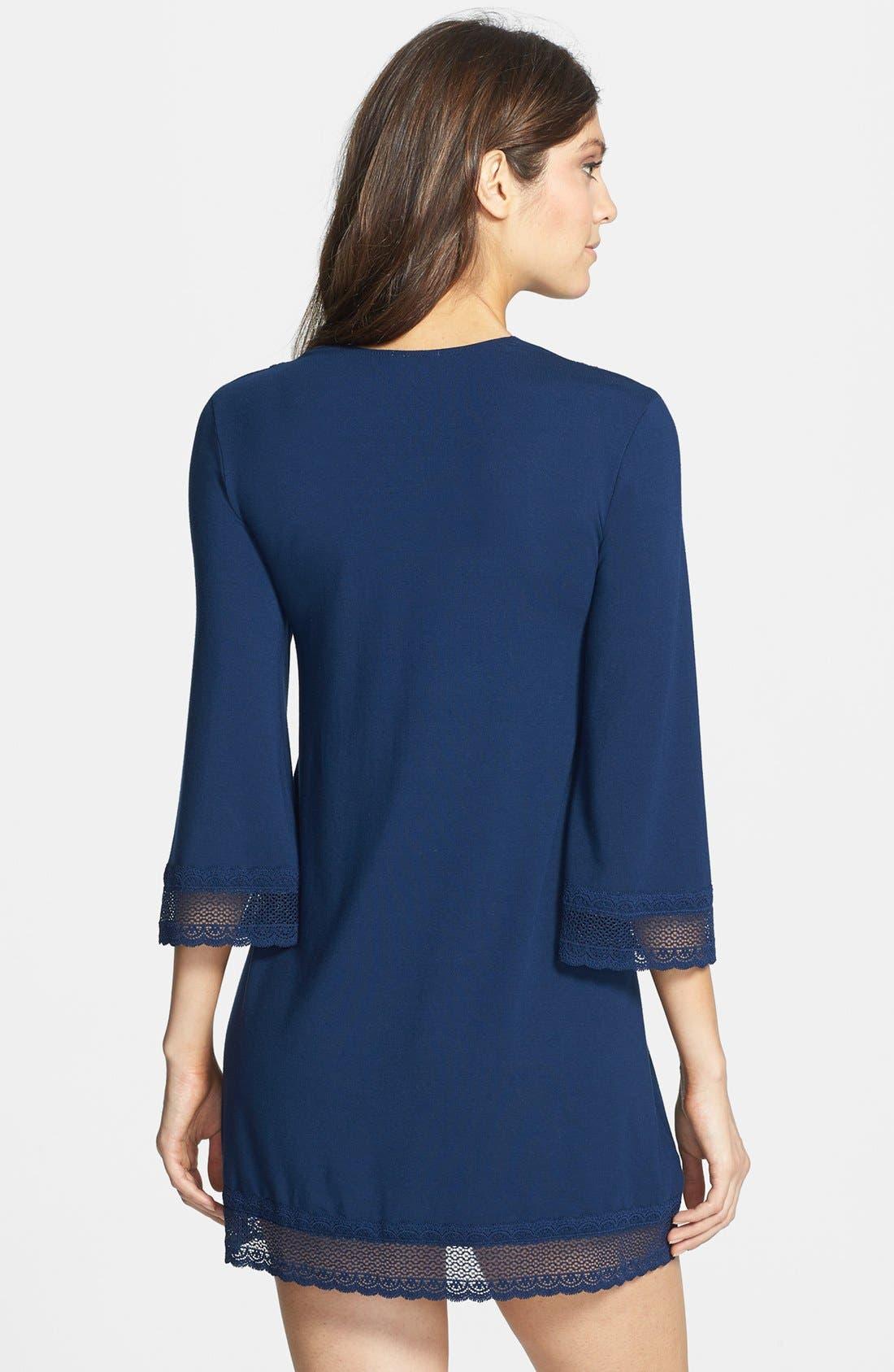 Alternate Image 2  - Eberjey 'Gisele' Jersey Tunic Sleep Shirt