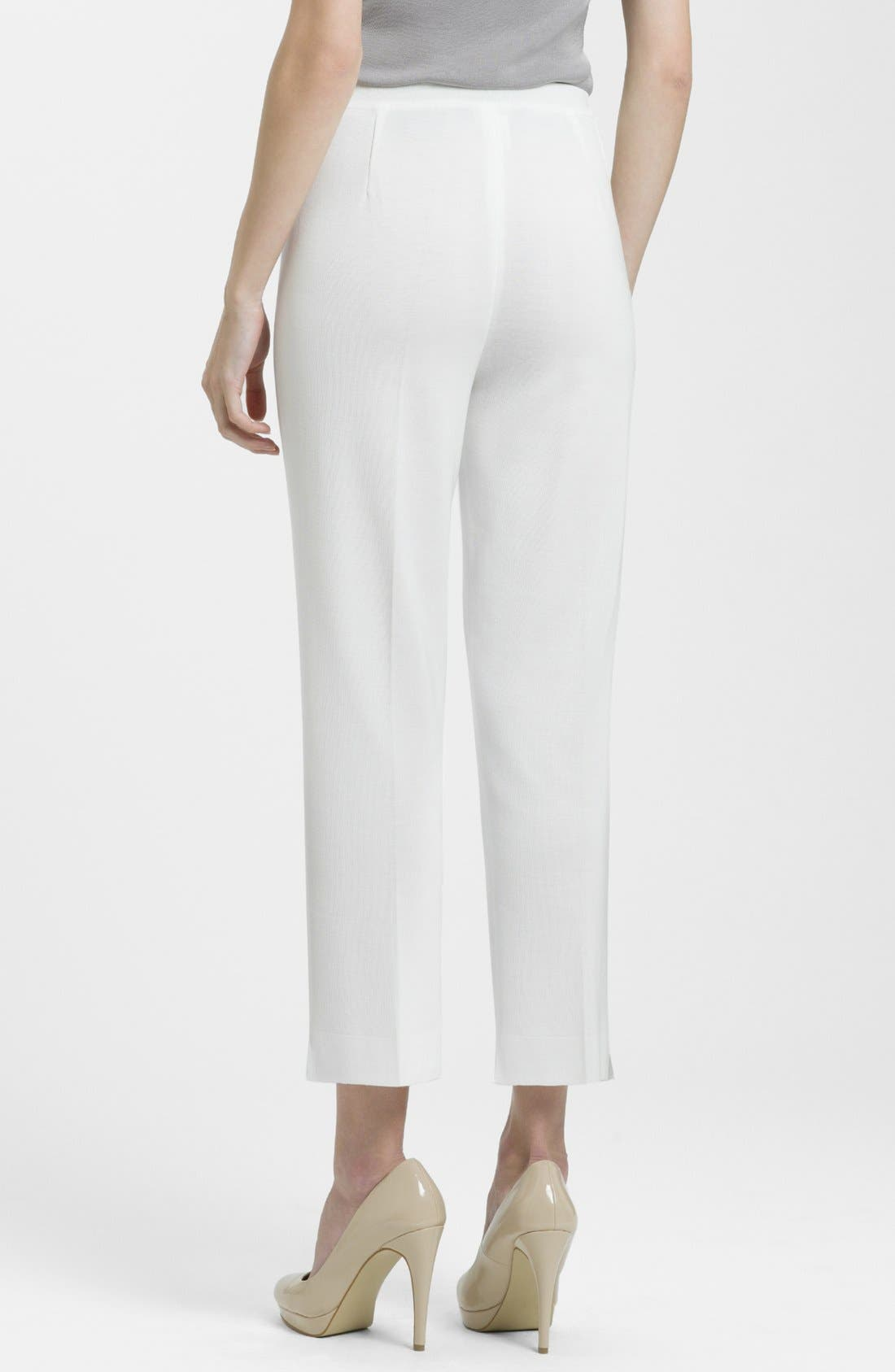 Alternate Image 2  - Ming Wang Lined Ankle Pants