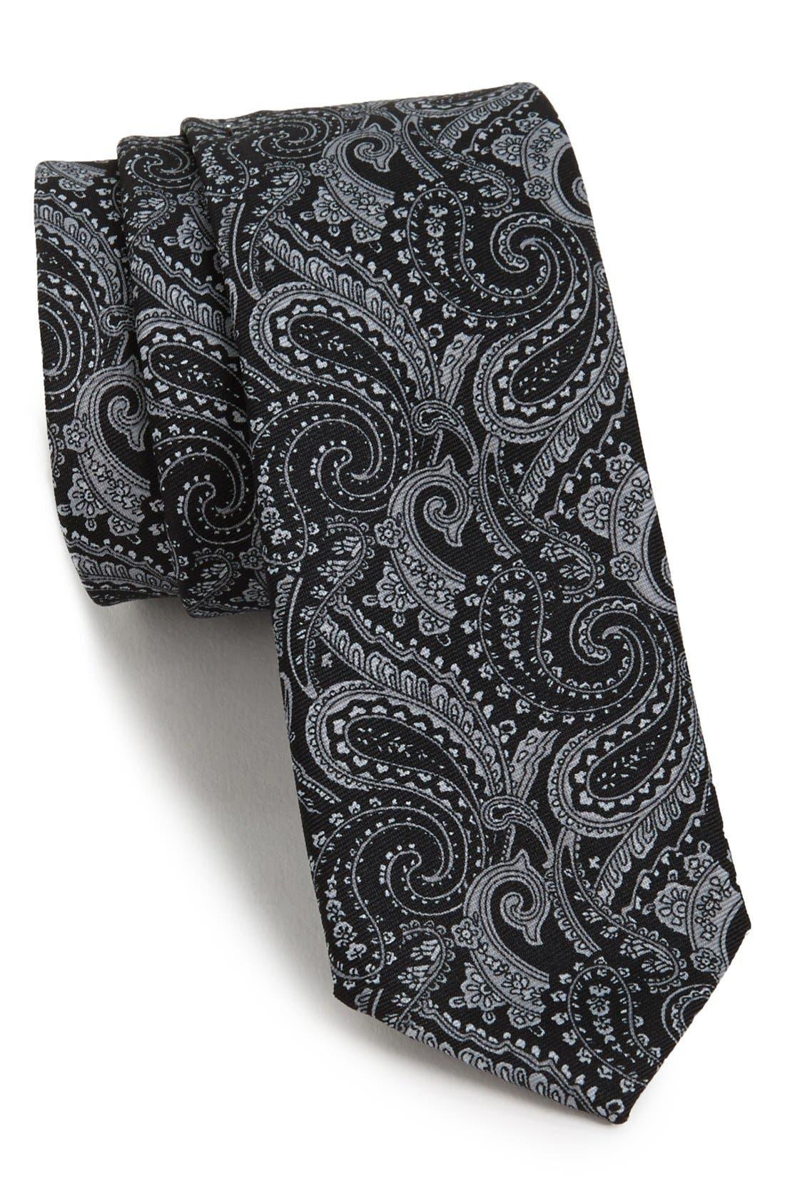 Main Image - Topman Paisley Tie