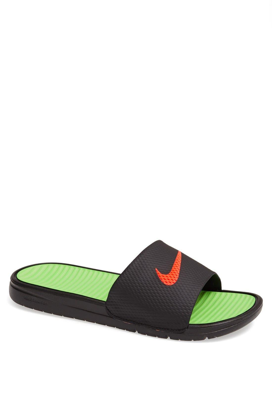 Alternate Image 1 Selected - Nike 'Benassi SolarSoft' Sandal