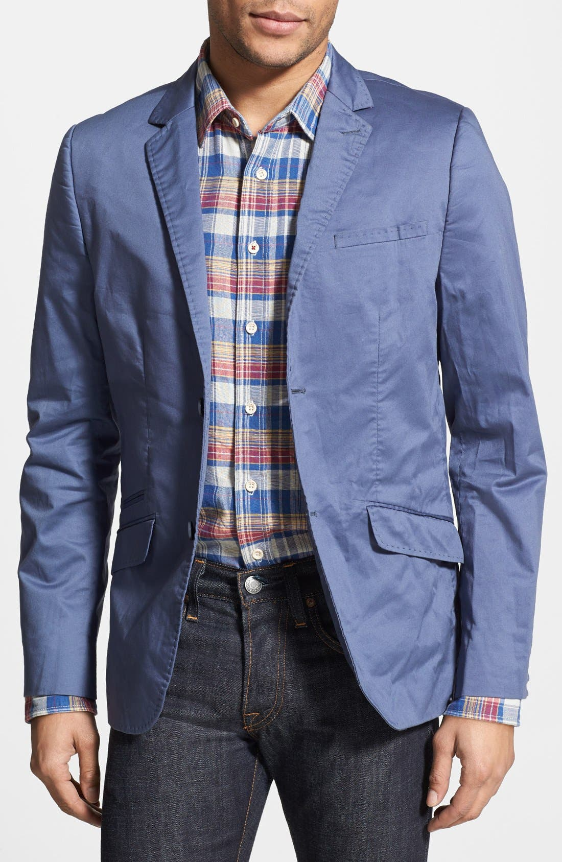 Alternate Image 1 Selected - Howe 'Personal Jesus' Stretch Twill Sport Coat