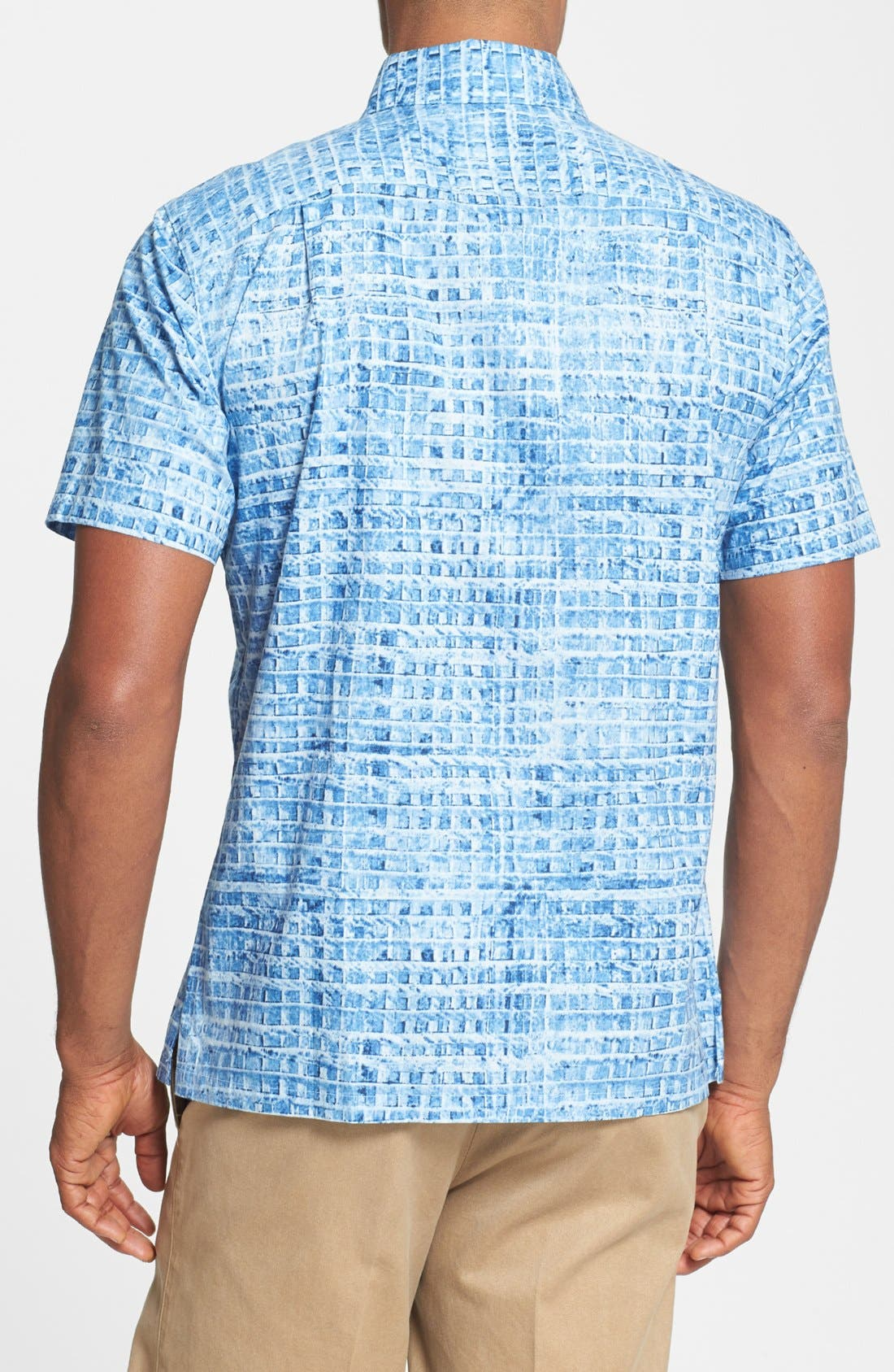 Alternate Image 2  - Tori Richard 'Glass Tile' Classic Fit Short Sleeve Sport Shirt