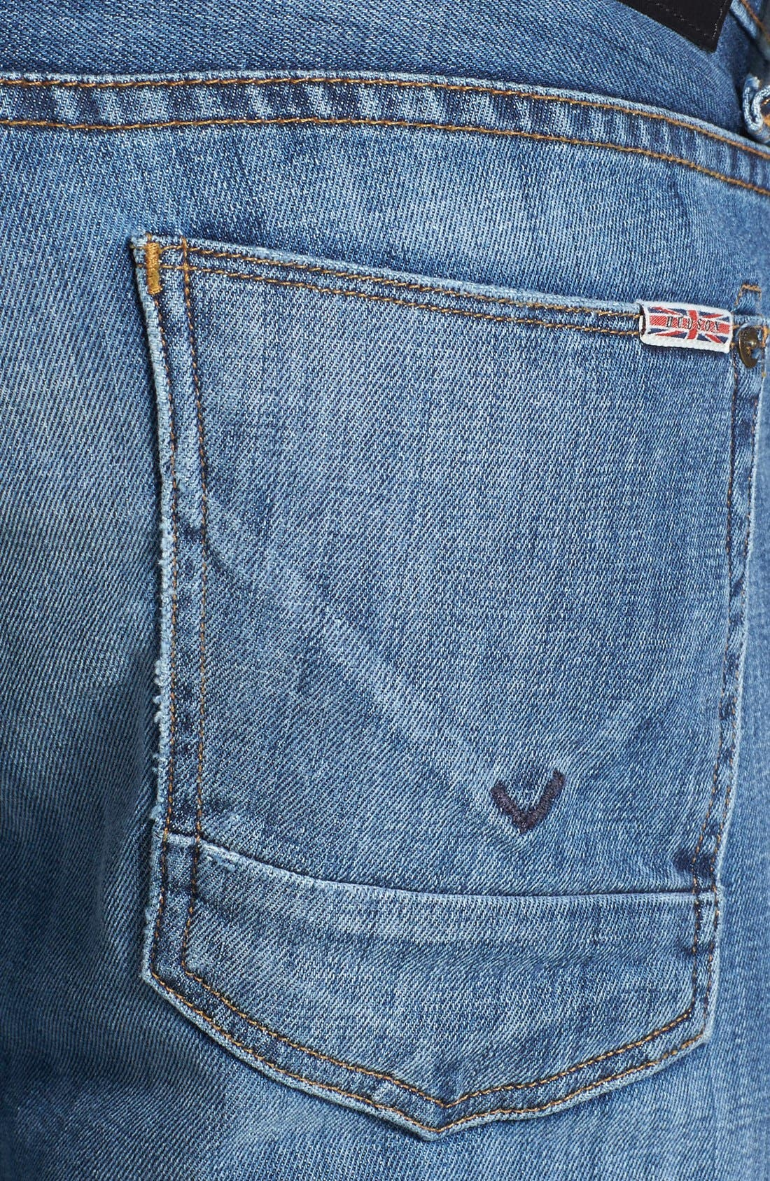 Alternate Image 4  - Hudson Jeans 'Byron' Straight Leg Jeans (Highway)