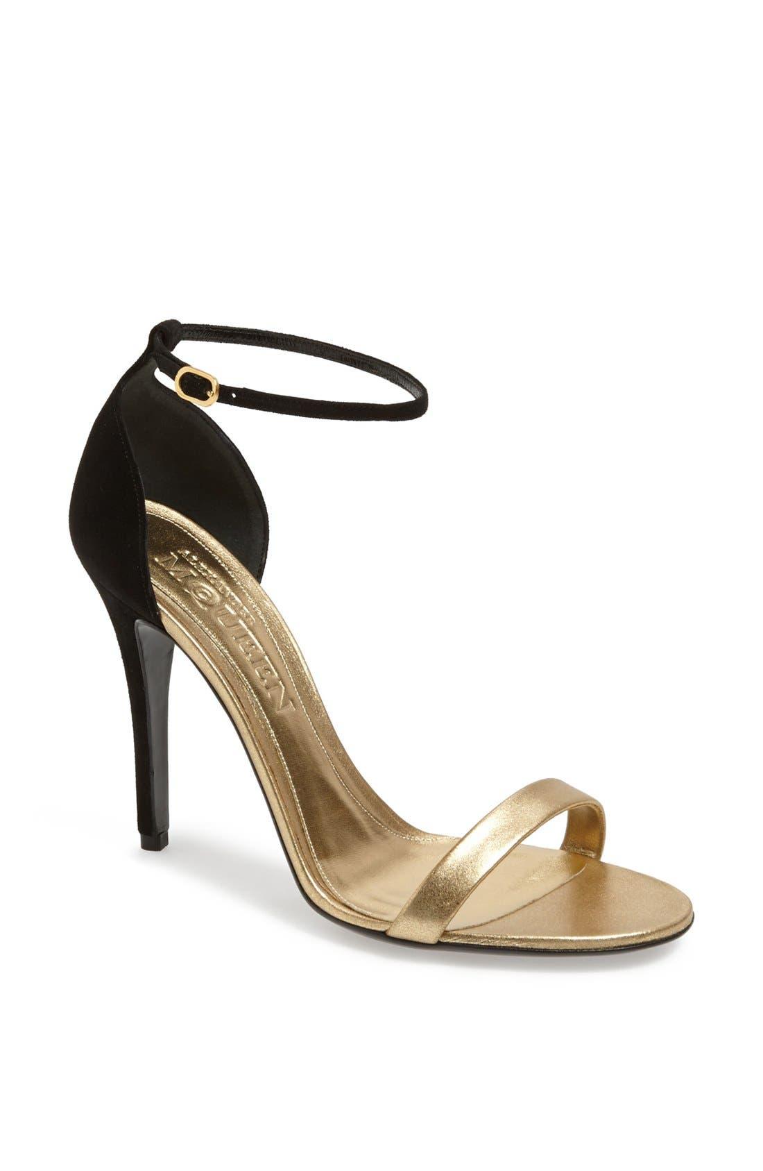 Alternate Image 1 Selected - Alexander McQueen 'Minimalist' Sandal