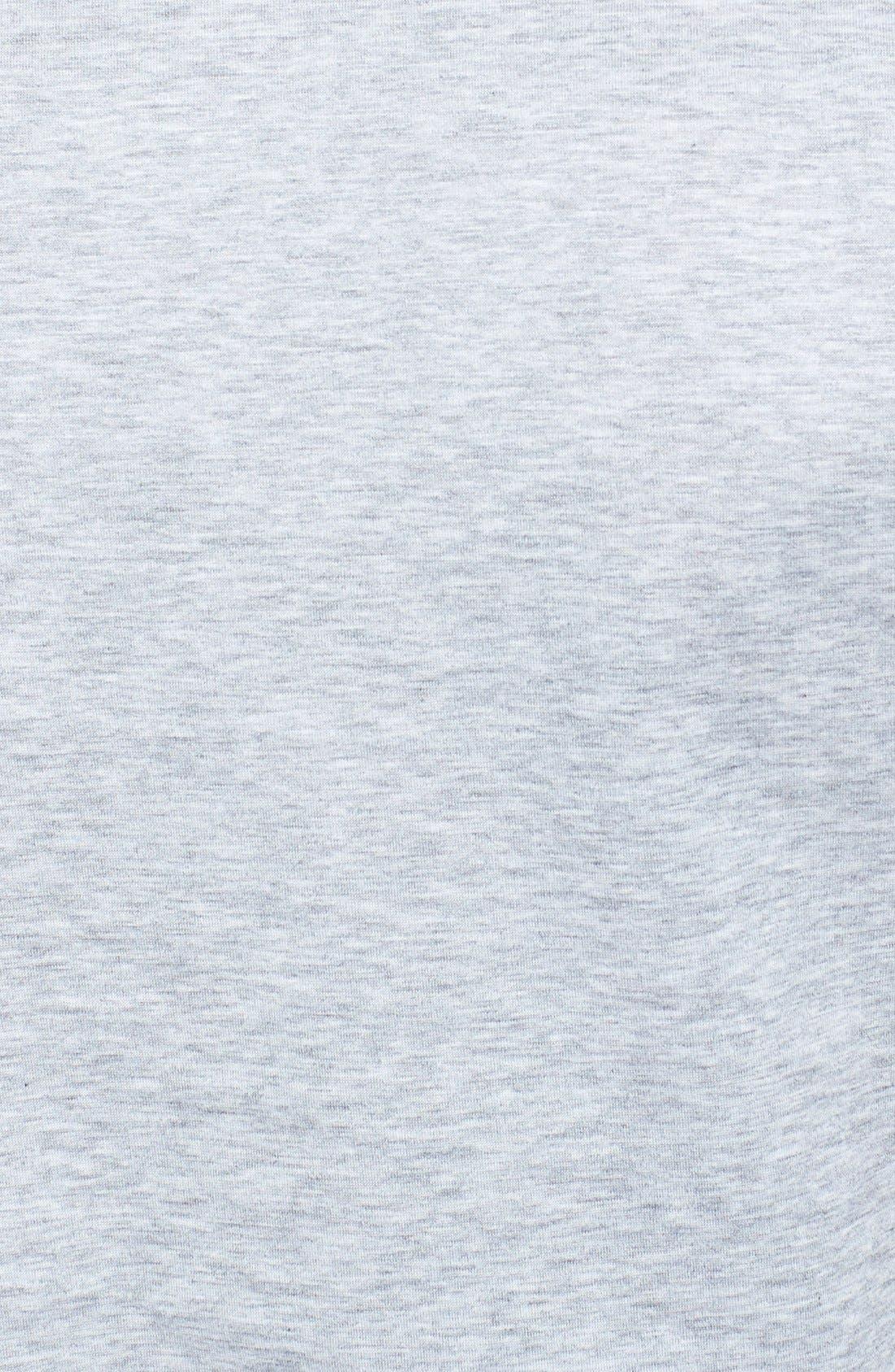 Alternate Image 3  - Versace Camo Front Print V-Neck T-Shirt