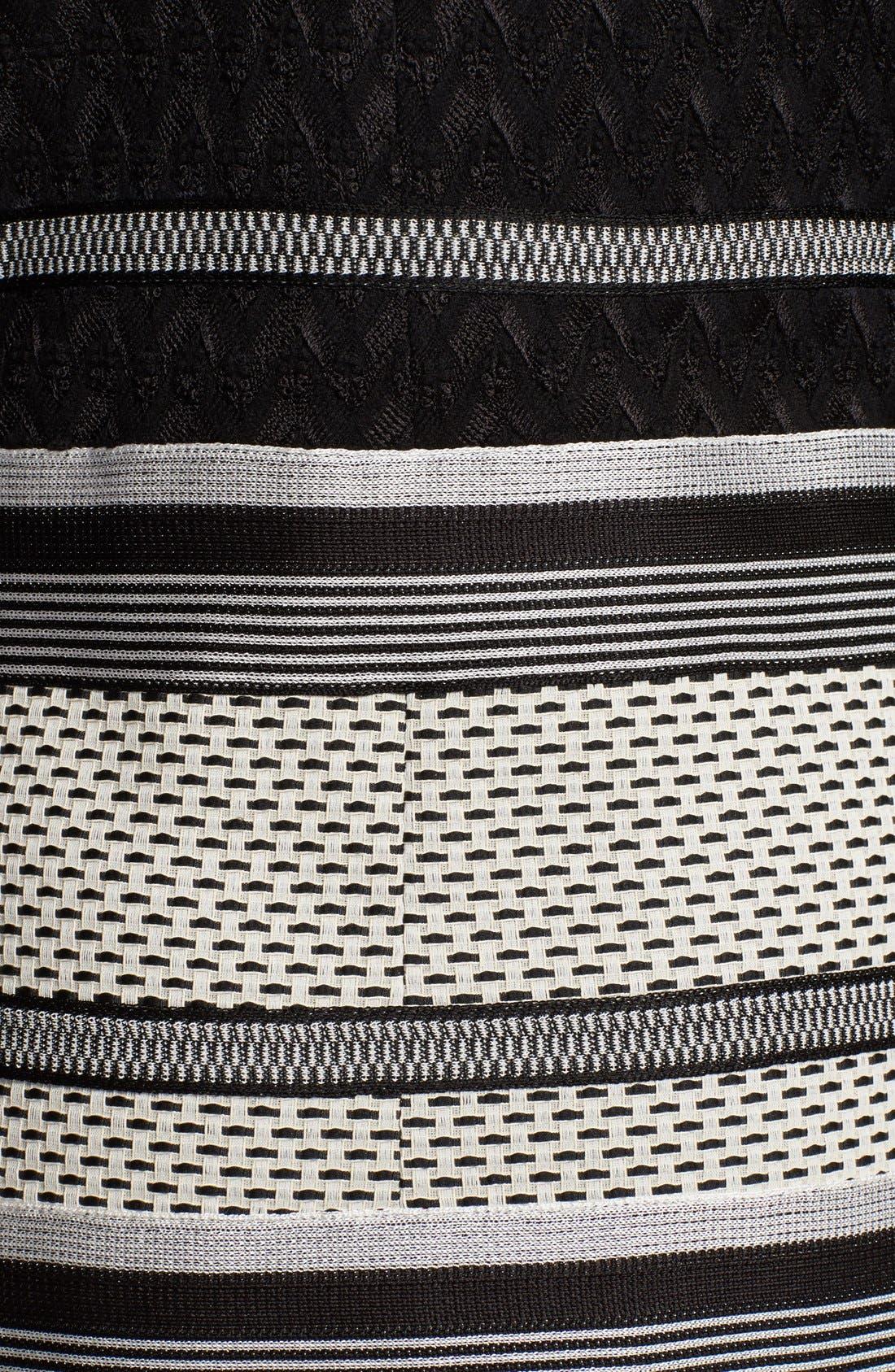 Alternate Image 3  - Missoni Long Intarsia Knit Jacquard Coat