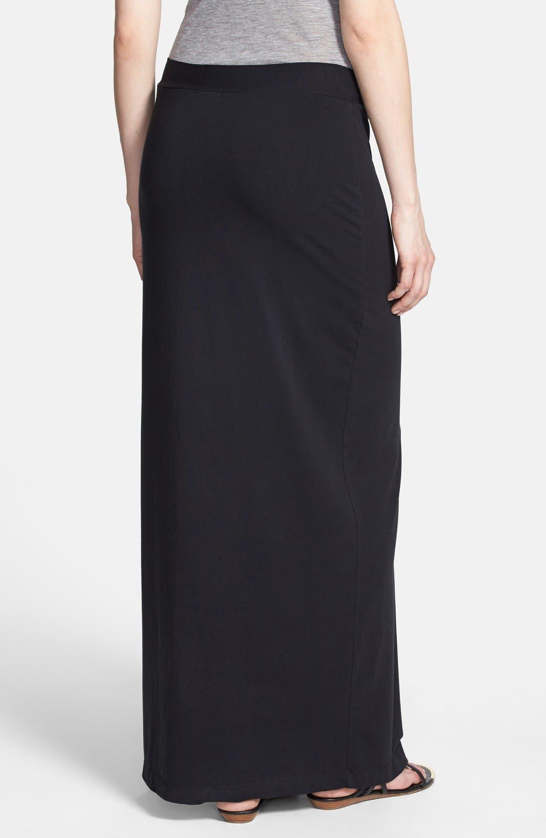 Alternate Image 2  - Splendid Side Slit Maxi Skirt