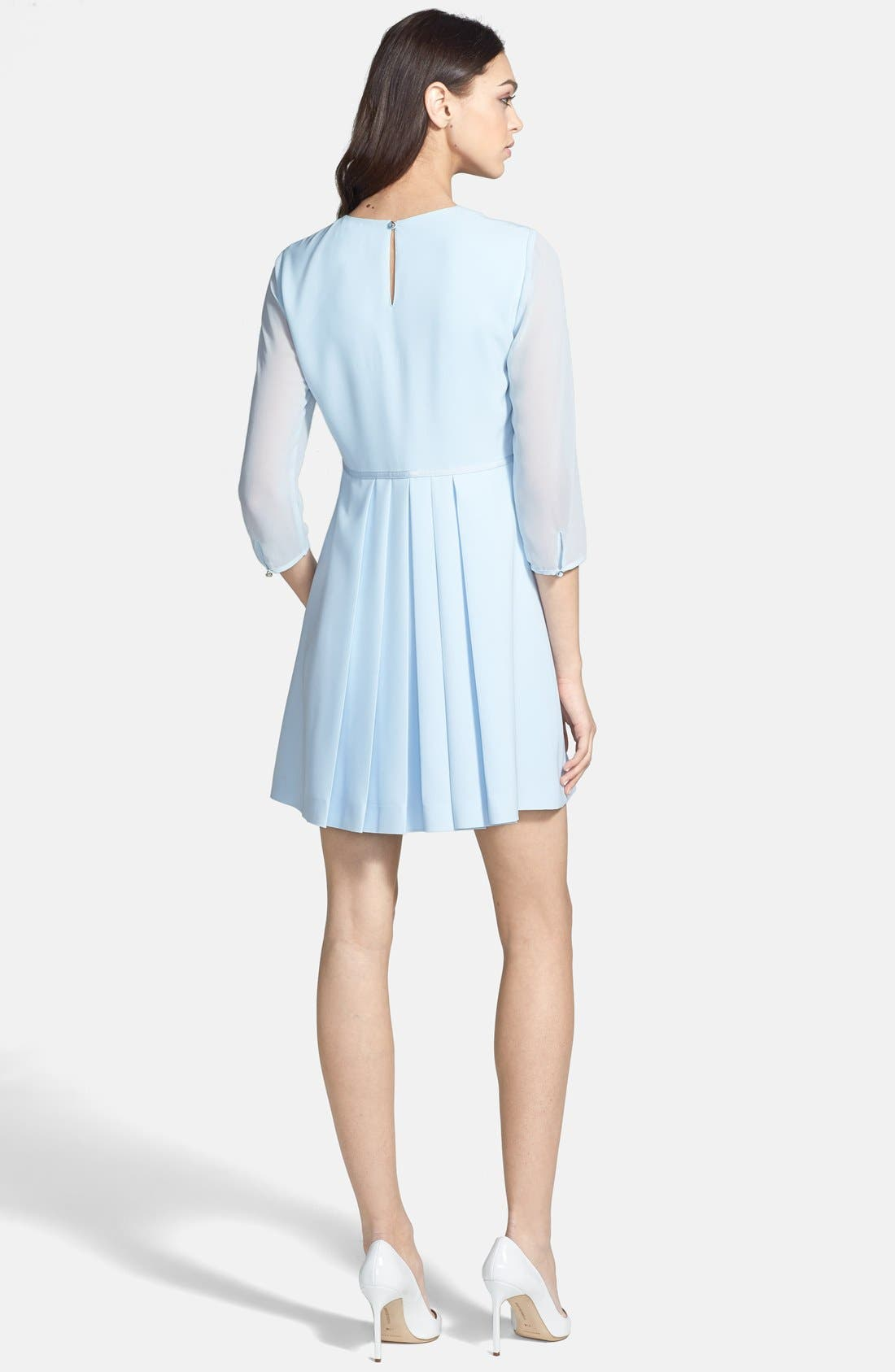 Alternate Image 2  - Ted Baker London Bow Detail Stretch A-Line Dress
