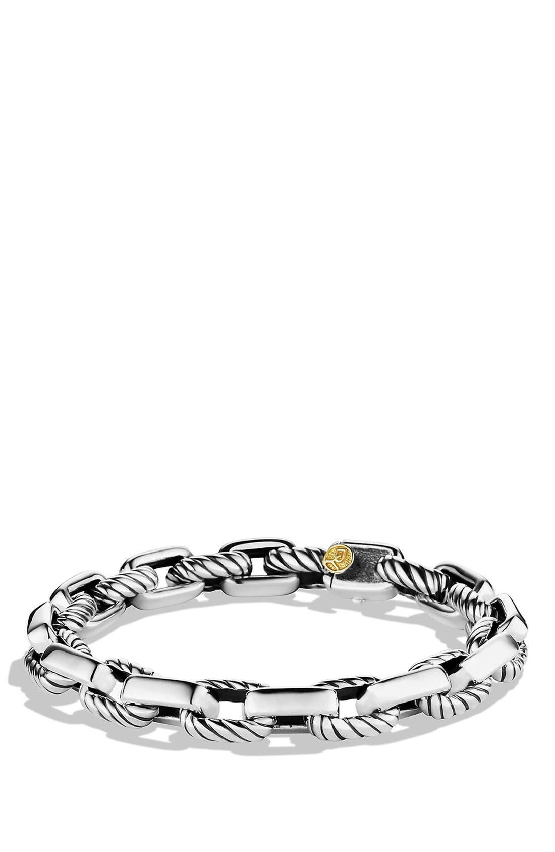 Alternate Image 1 Selected - David Yurman 'Chain' Empire Link Bracelet with Gold