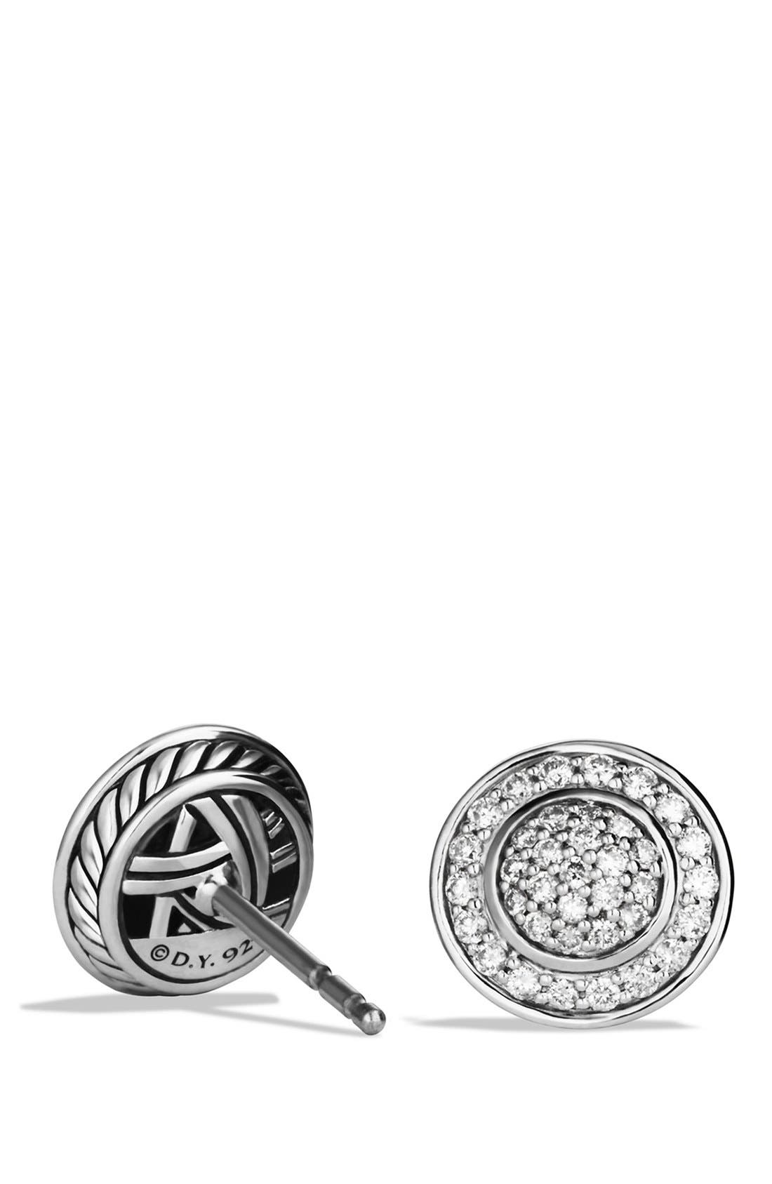 Alternate Image 2  - David Yurman 'Cerise' Mini Earrings with Diamonds