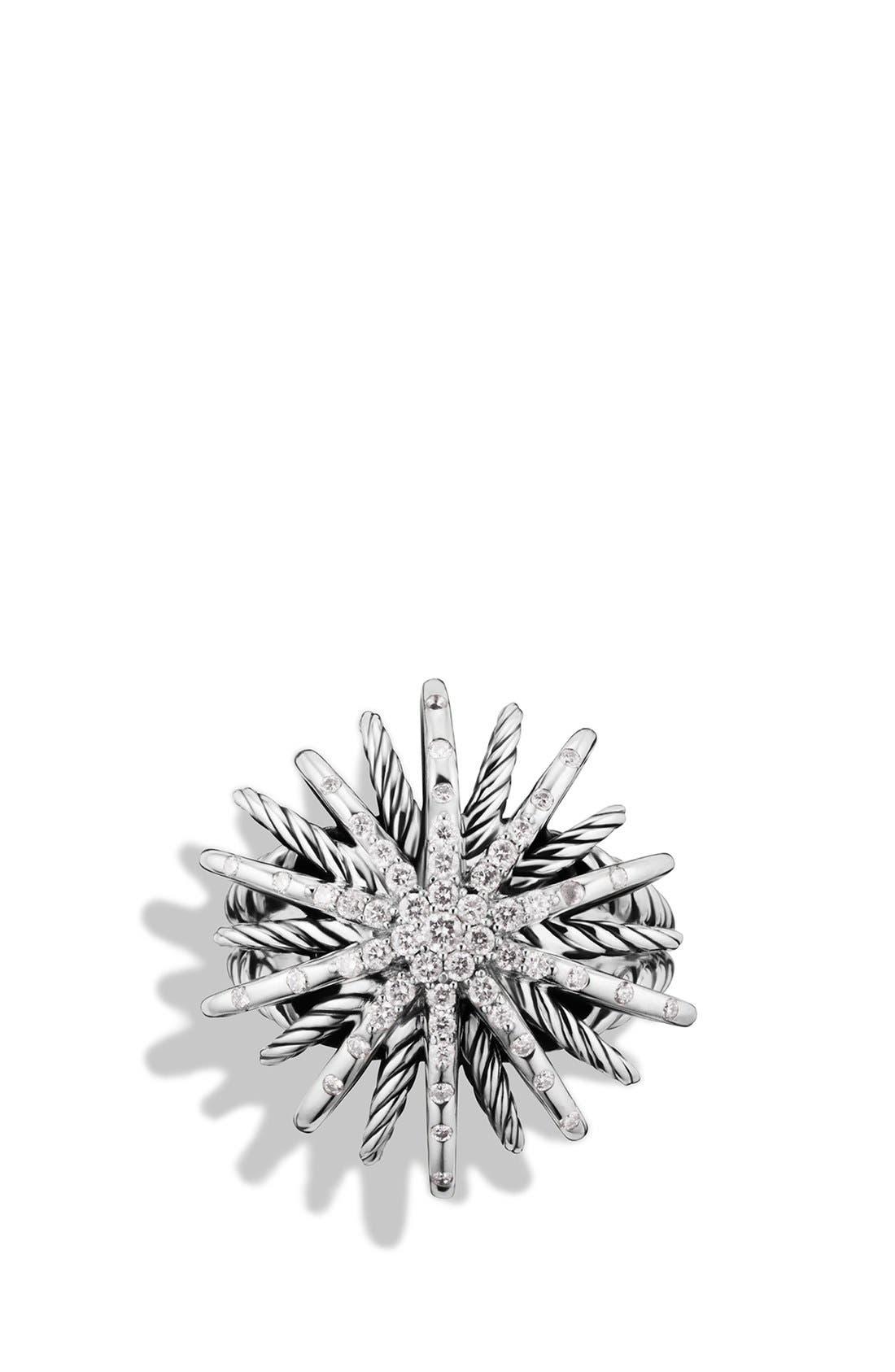Alternate Image 3  - David Yurman 'Starburst' Ring with Diamonds