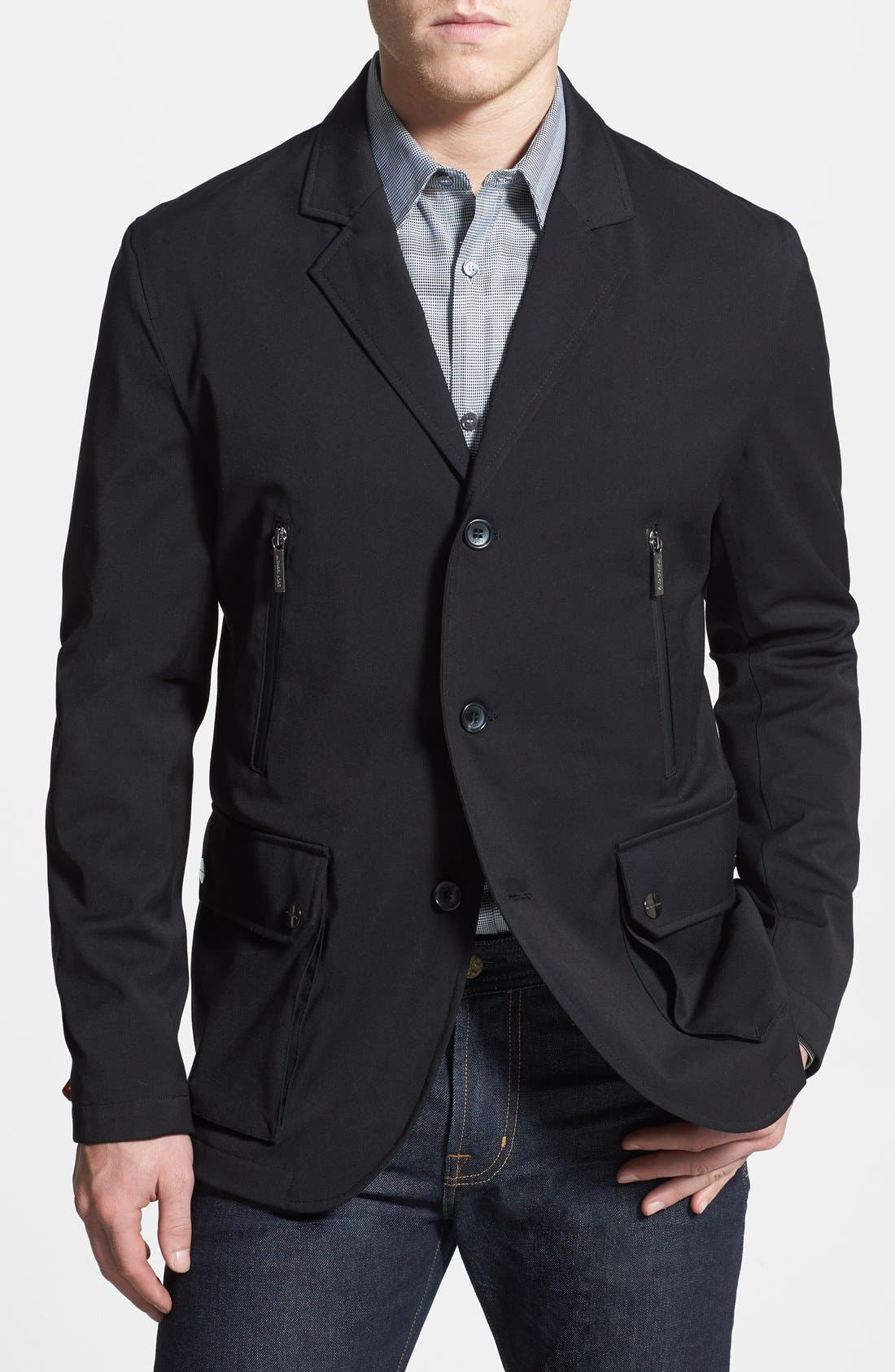 Main Image - Michael Kors Water Resistant Travel Sportcoat