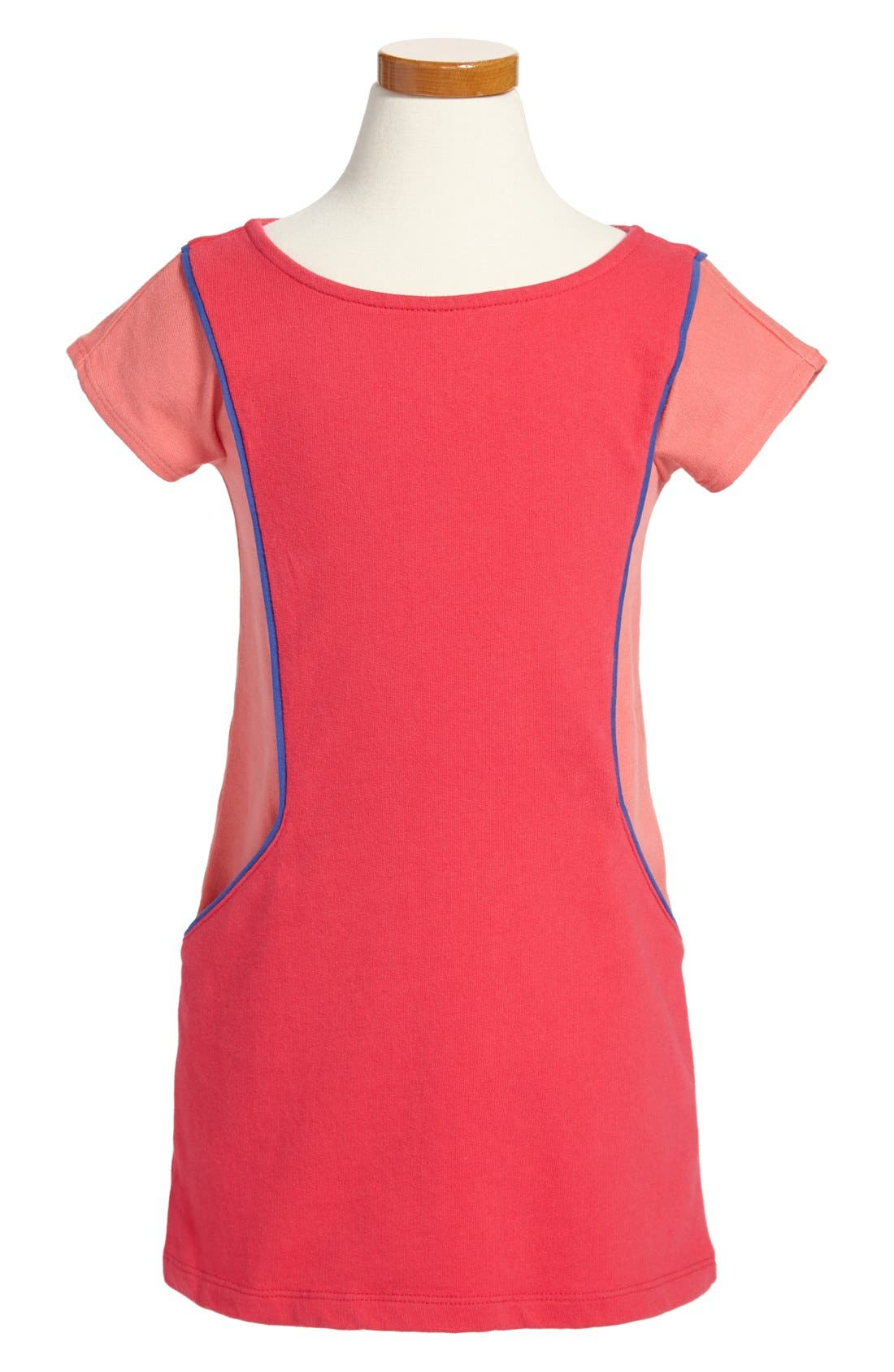 Alternate Image 1 Selected - Tea Collection 'Rabat' Colorblock Dress (Toddler Girls)