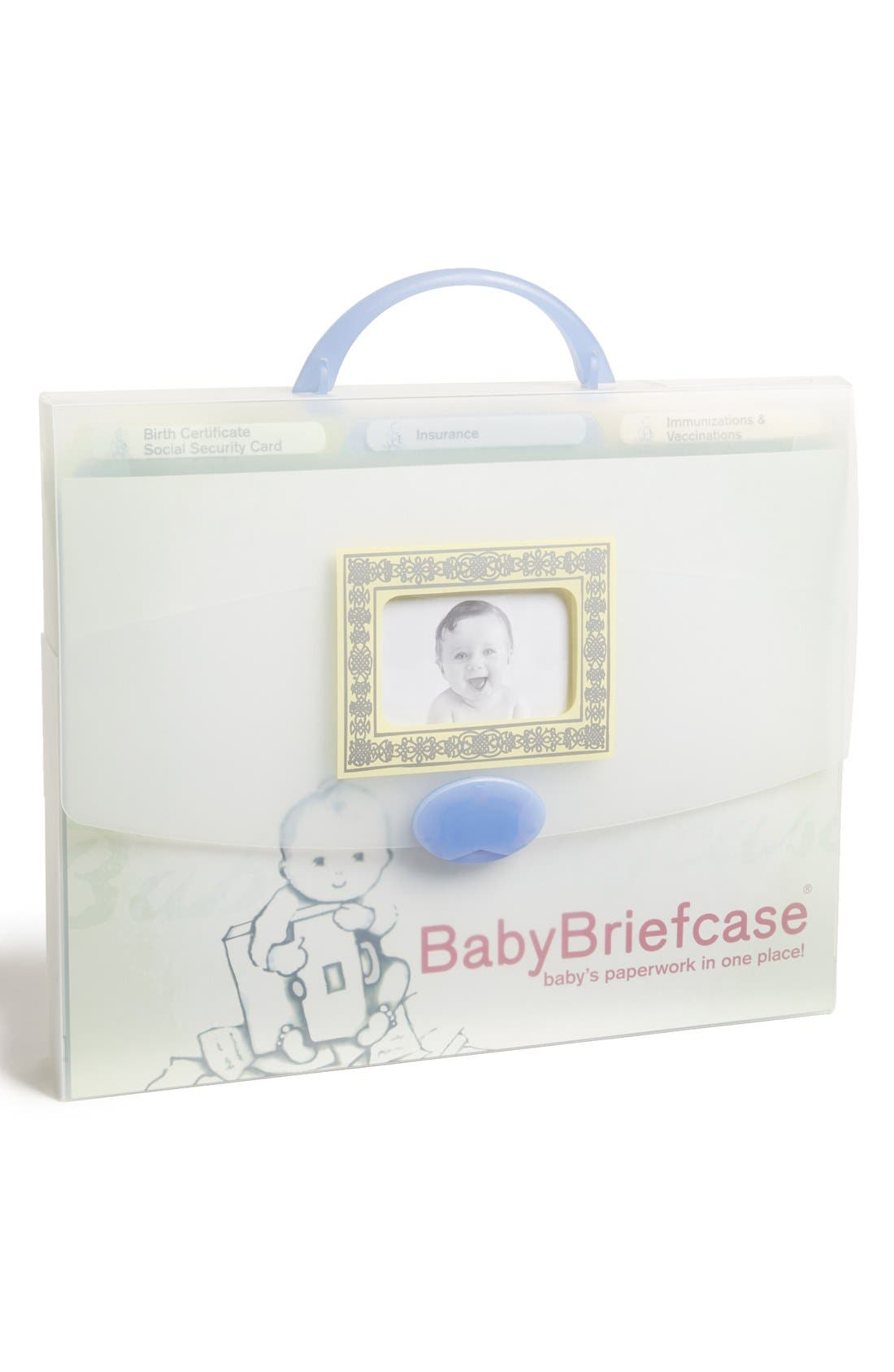 Alternate Image 1 Selected - BabyBriefcase® Document Organizer