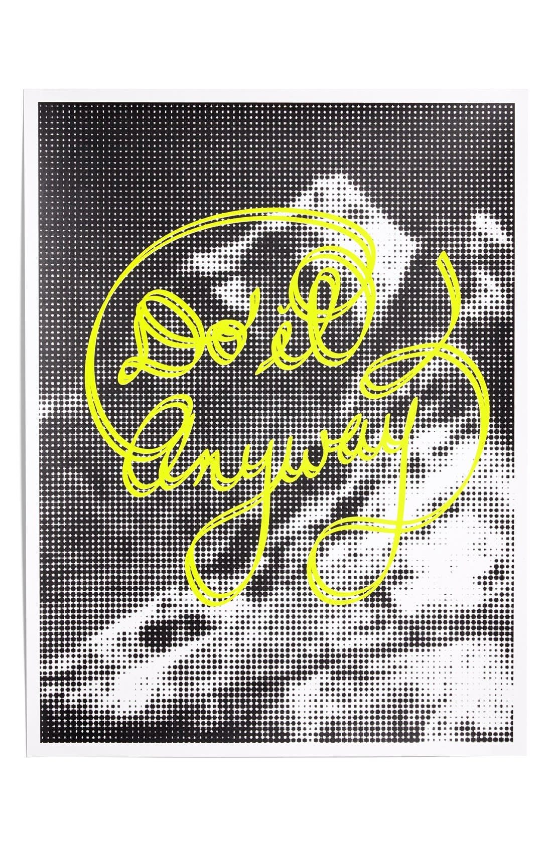 Main Image - Holstee 'Do It Anyway' Poster