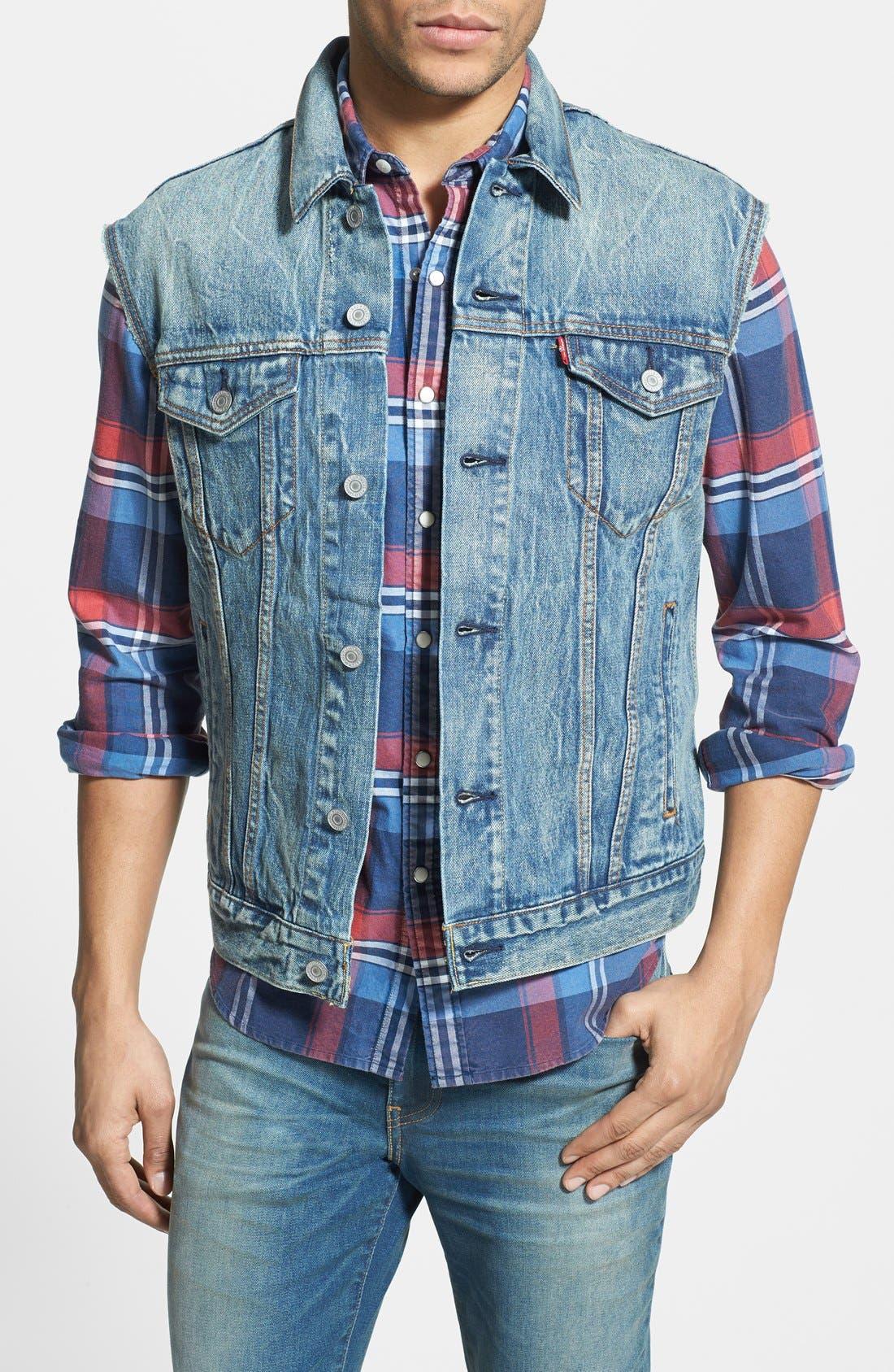 Alternate Image 1 Selected - Levi's® Denim Vest