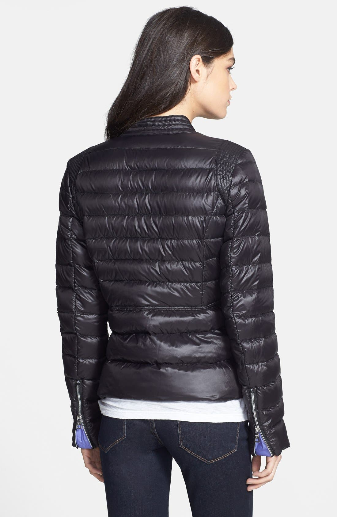 Alternate Image 2  - Sam Edelman 'Barbara' Packable Down Moto Jacket