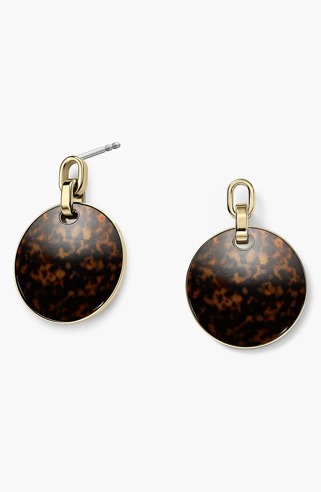 Alternate Image 1 Selected - Michael Kors 'Modern Mix' Large Disc Earrings