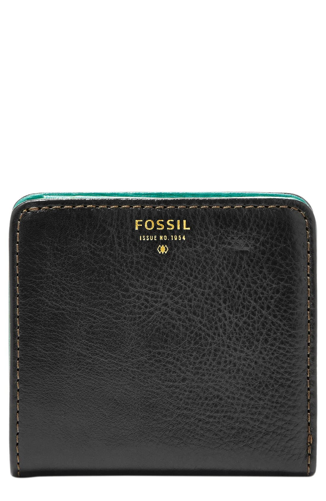 Alternate Image 1 Selected - Fossil 'Sydney' Bifold Leather Wallet