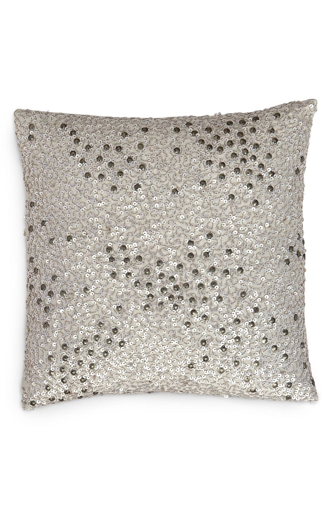 Alternate Image 1 Selected - Donna Karan Collection 'Reflection' Sequin Pillow (Online Only)