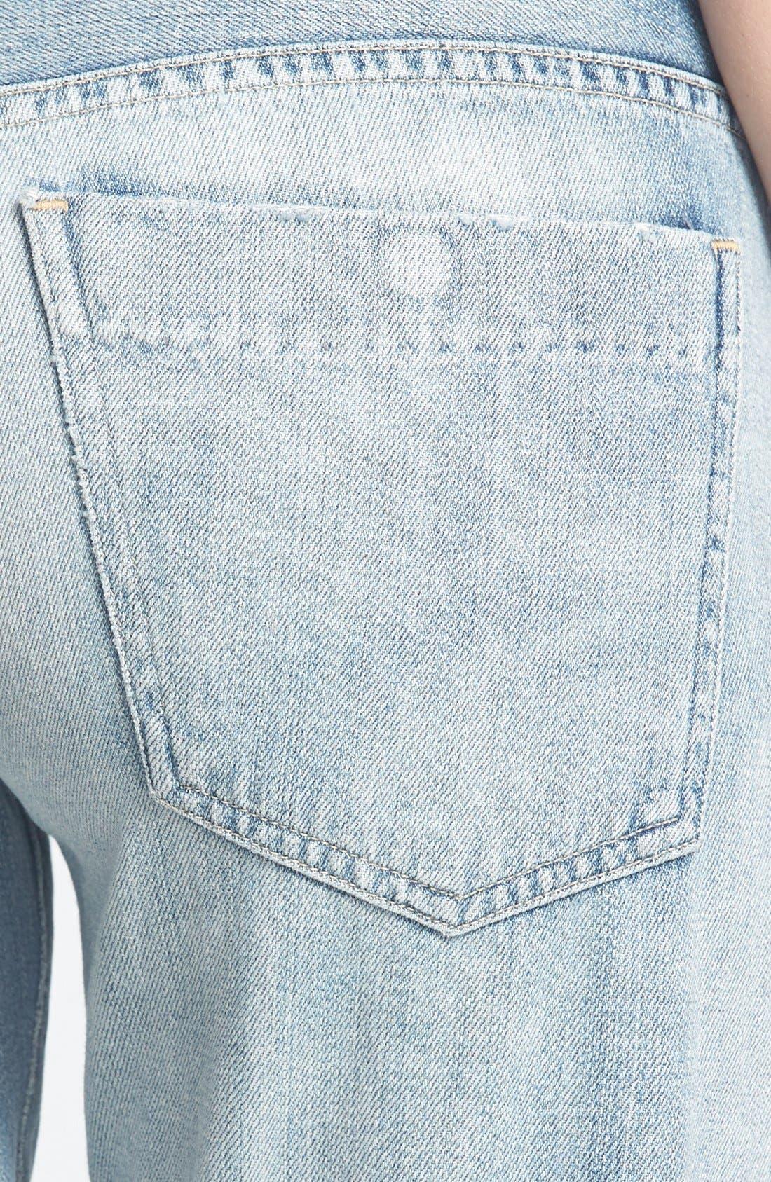 Alternate Image 3  - Citizens of Humanity 'Premium Vintage - Skyler' Boyfriend Crop Jeans (Archive)