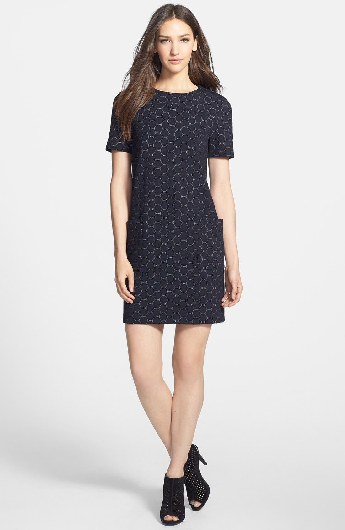 Main Image - MARC BY MARC JACOBS 'Leyna Dotty' Ponte A-Line Dress