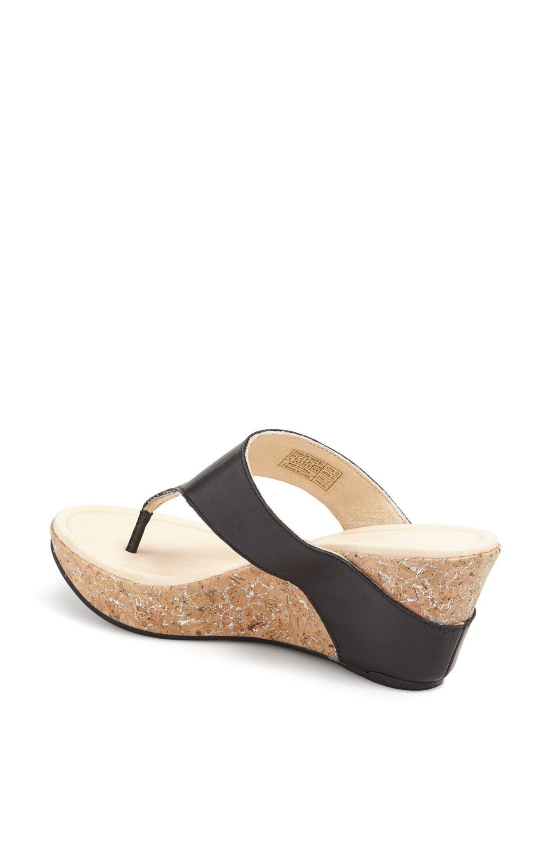 Alternate Image 2  - Tsubo 'Odelle' Wedge Thong Sandal