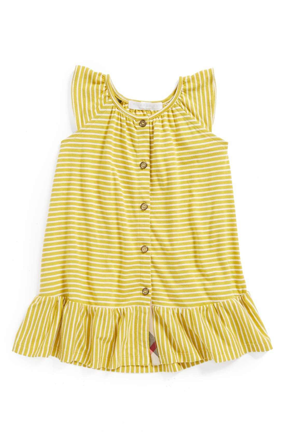 Alternate Image 1 Selected - Burberry 'Tania' Dress (Baby Girls)