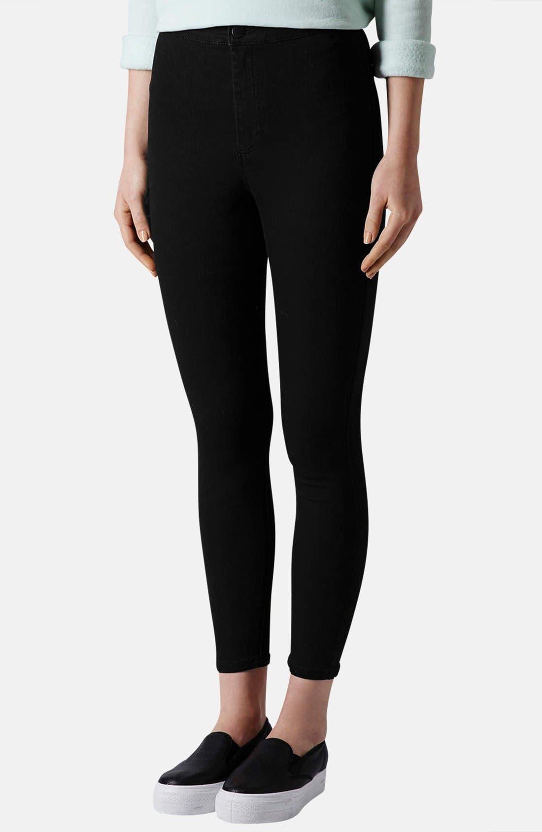 Alternate Image 1 Selected - Topshop Moto 'Joni' High Rise Skinny Jeans (Petite)
