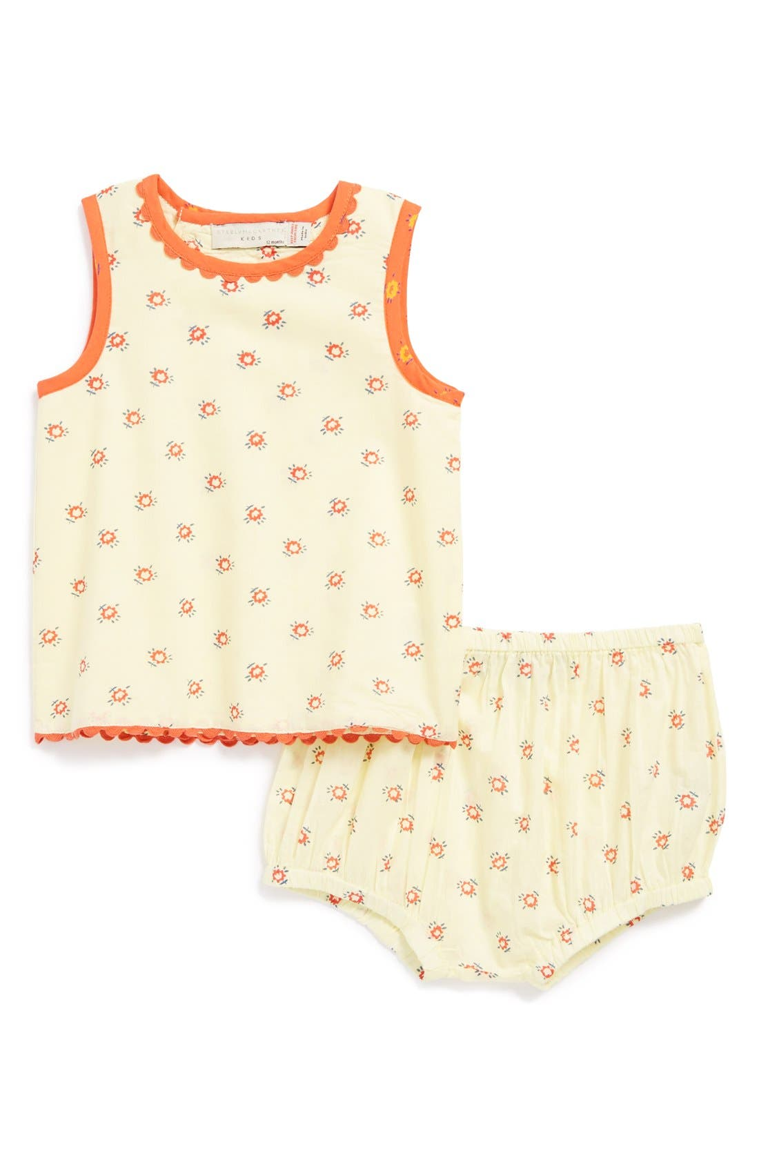 Alternate Image 1 Selected - Stella McCartney Kids 'Trixie' Tank Top & Bloomers (Baby Girls)