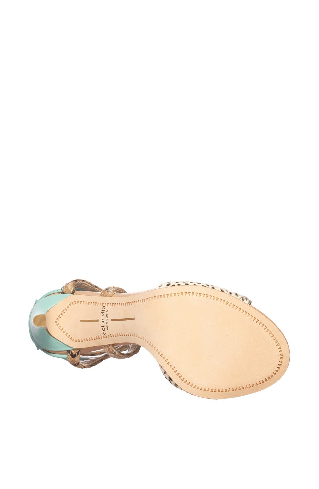 Alternate Image 4  - Dolce Vita 'Hexen' Lace-Up Ankle Strap Sandal