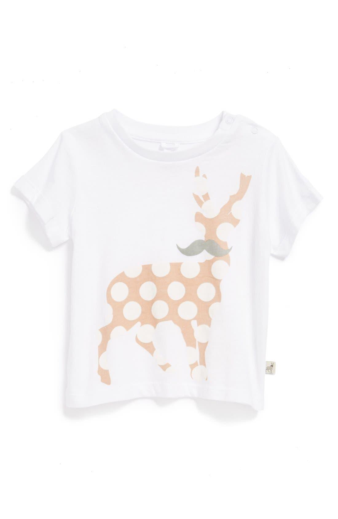Alternate Image 1 Selected - Stella McCartney Kids 'Chuckle' T-Shirt (Baby Girls)