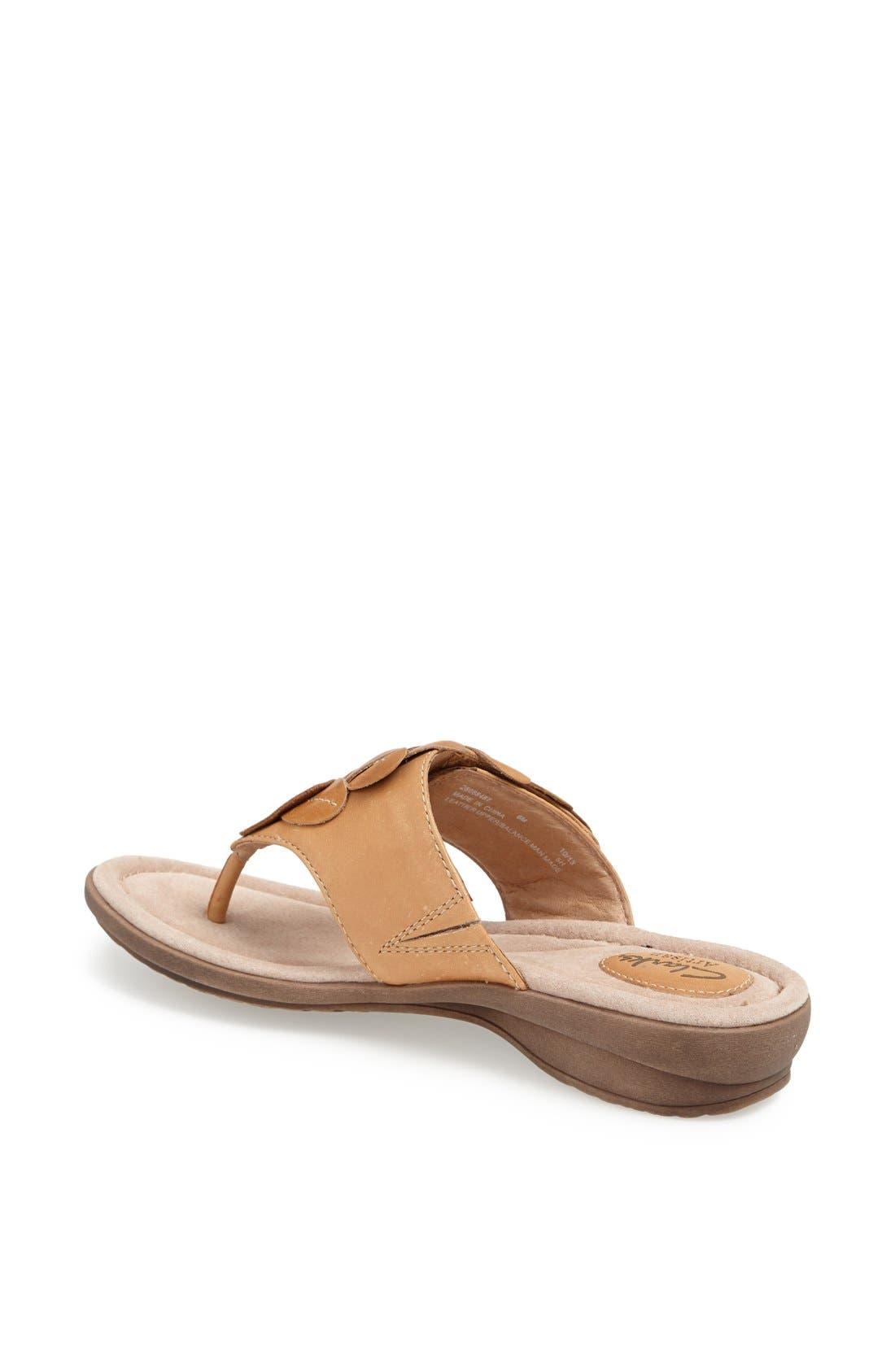 Alternate Image 2  - Clarks® 'Reid Ricki' Sandal