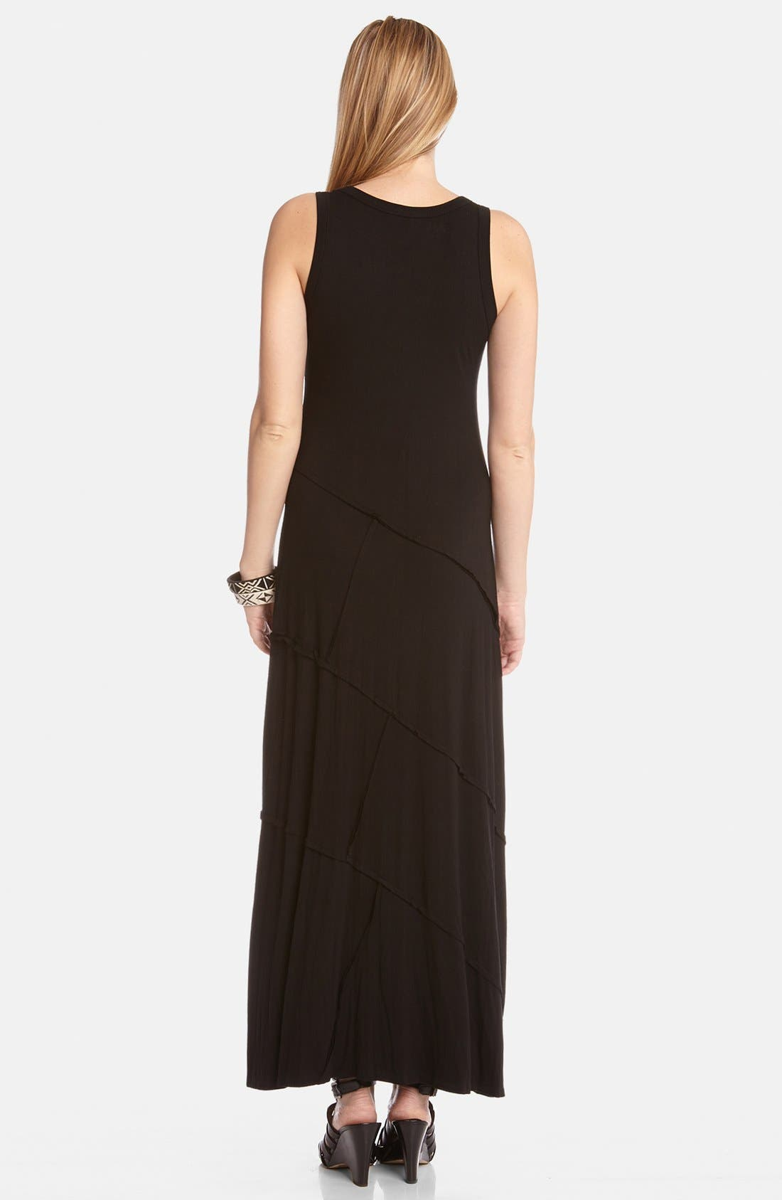 Alternate Image 2  - Karen Kane 'Carolyn' Reverse Seam Maxi Dress
